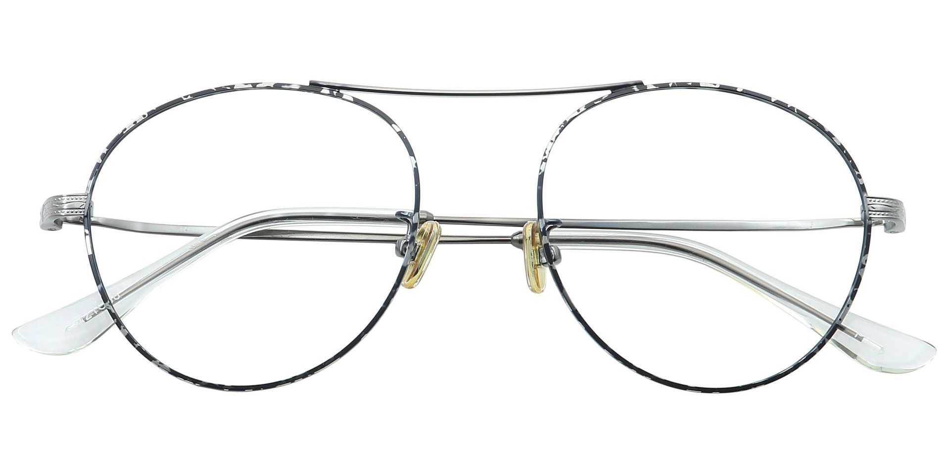 Finn Round Progressive Glasses - Gray