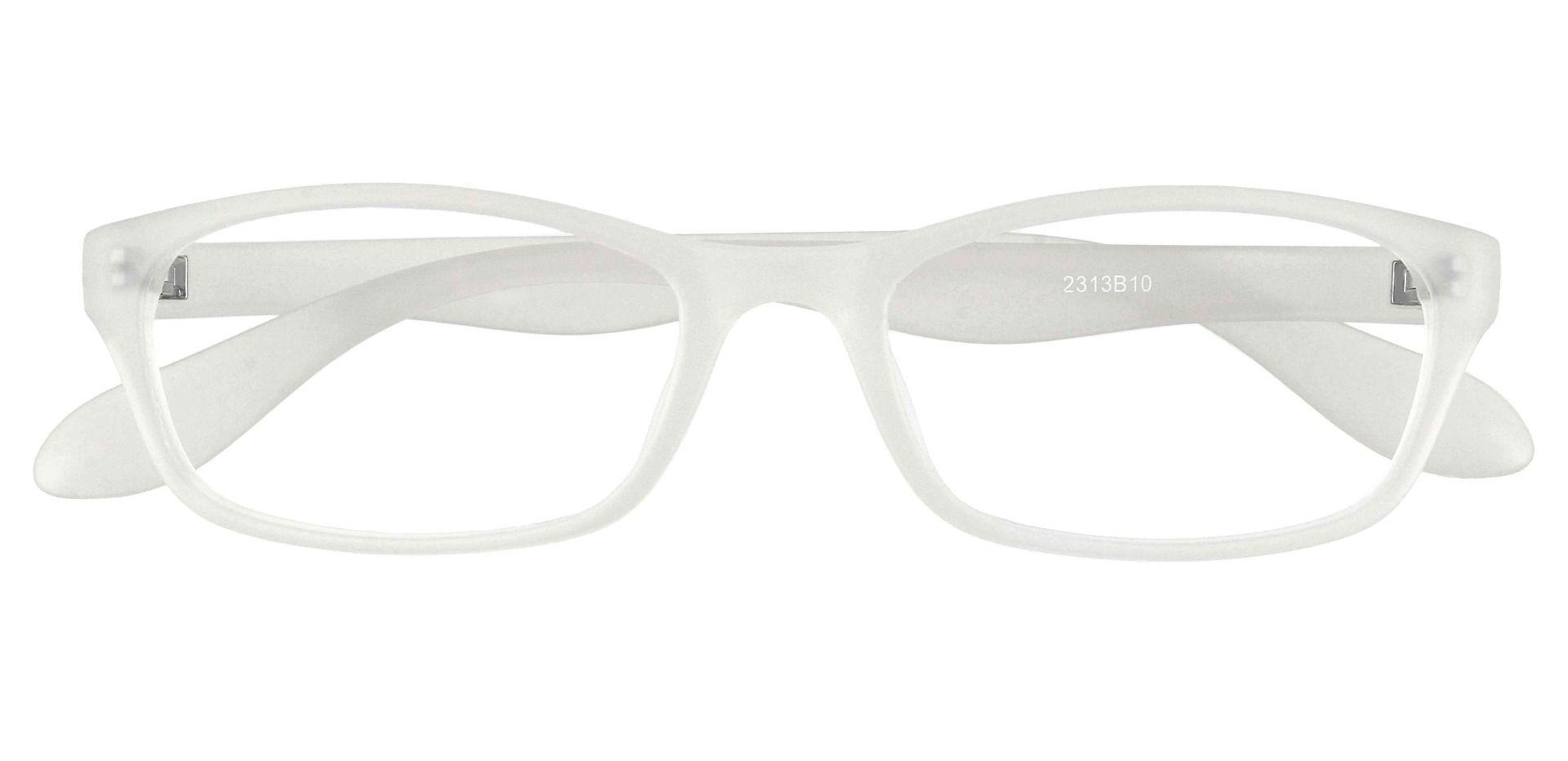 Jubilee Rectangle Single Vision Glasses - Brown