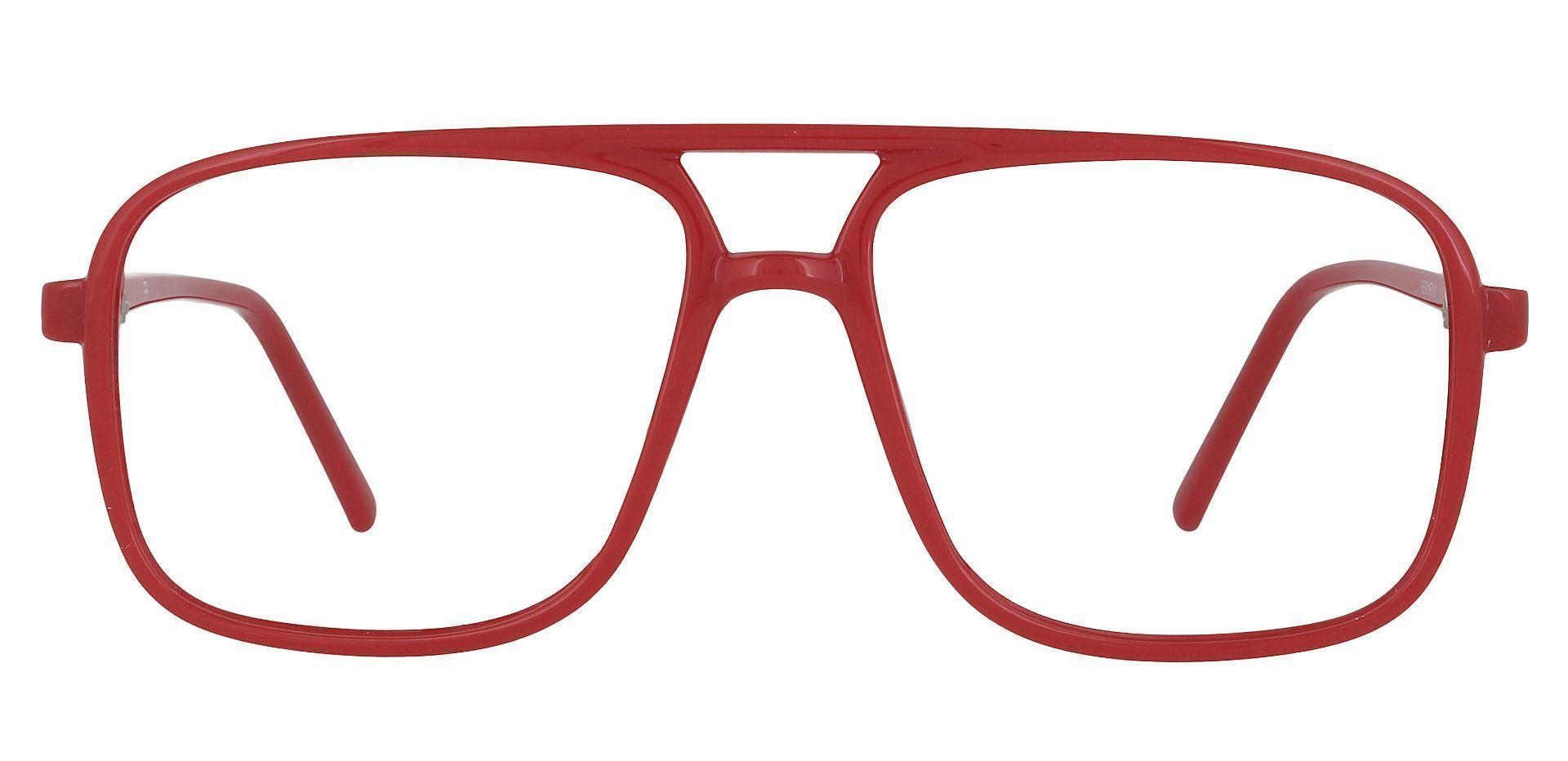 Atwood Aviator Prescription Glasses - Red
