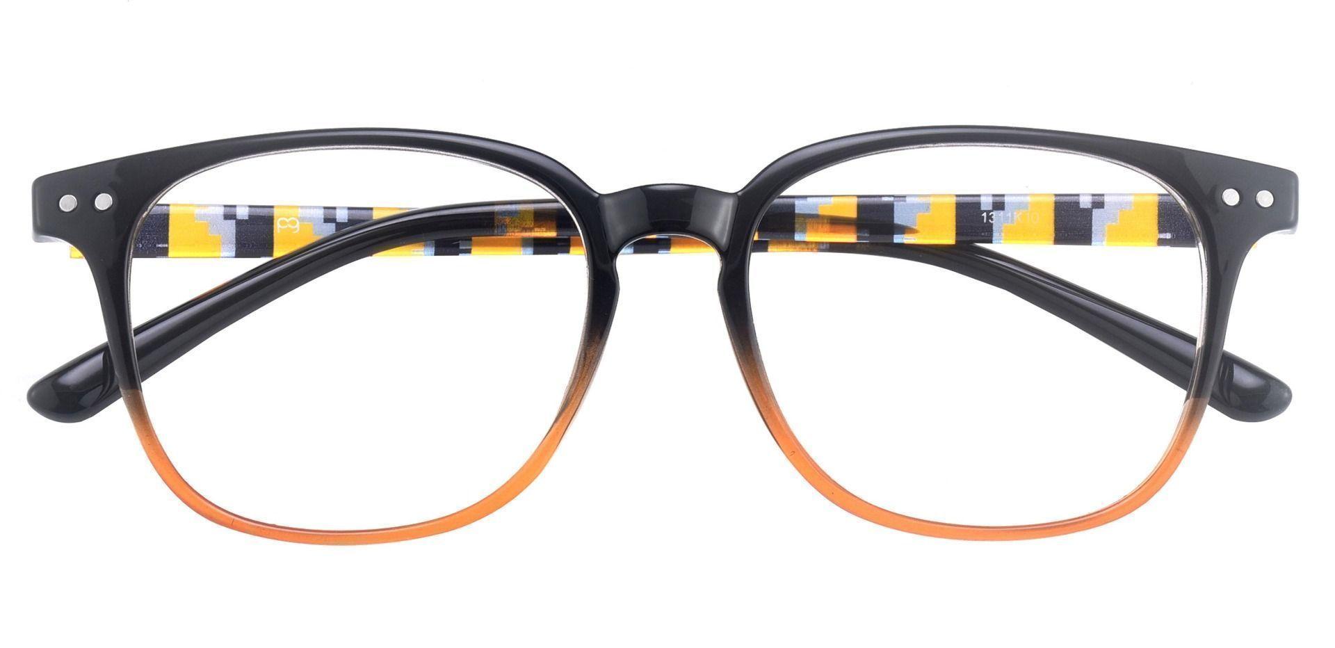 Ravine Oval Prescription Glasses - Black