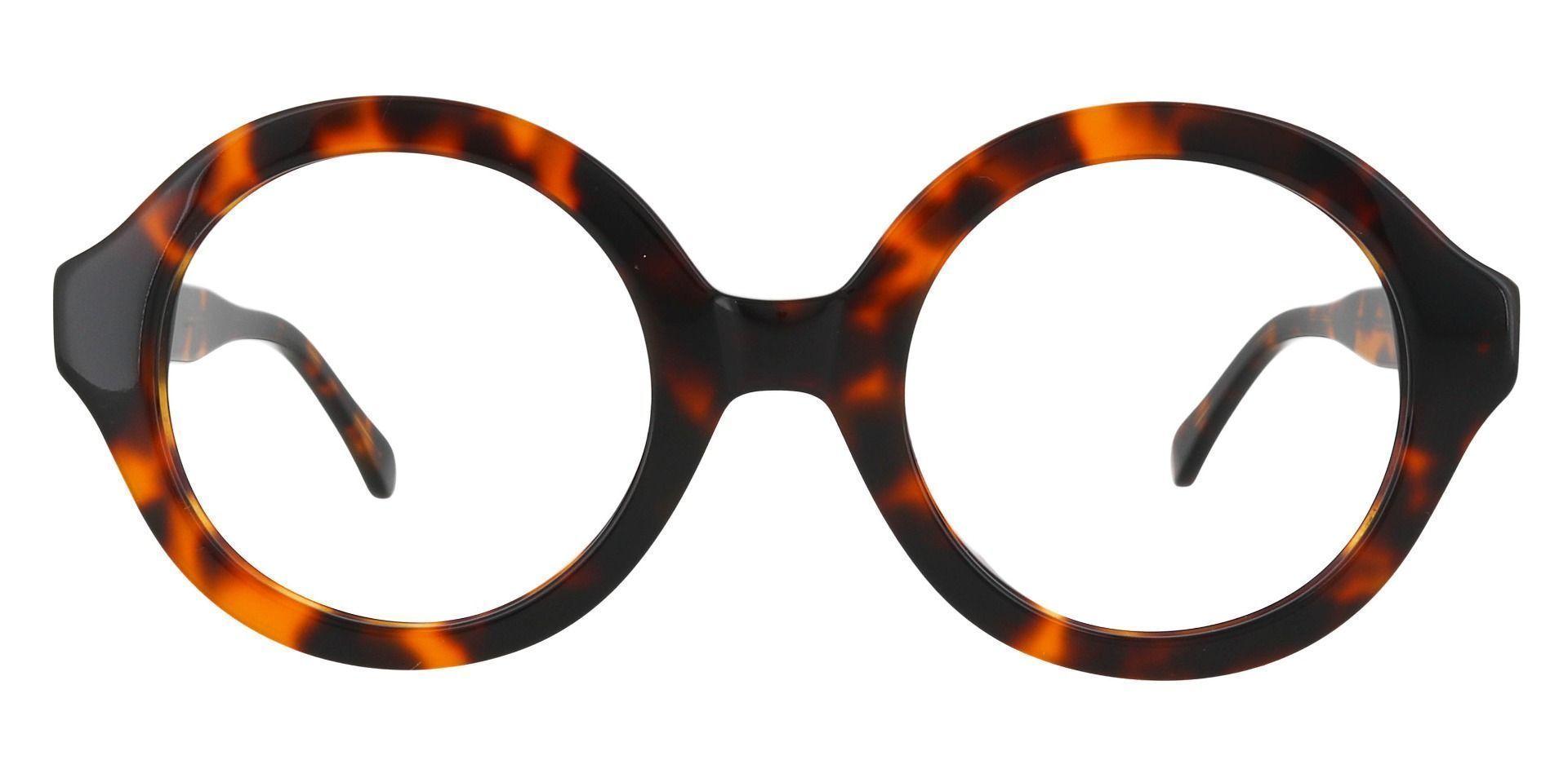 Clara Round Lined Bifocal Glasses - Tortoise