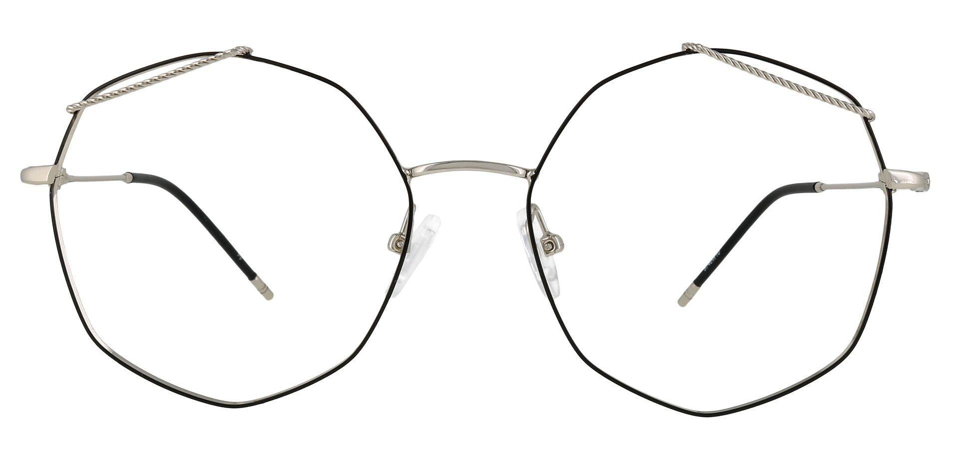 Tango Geometric Non-Rx Glasses - Black
