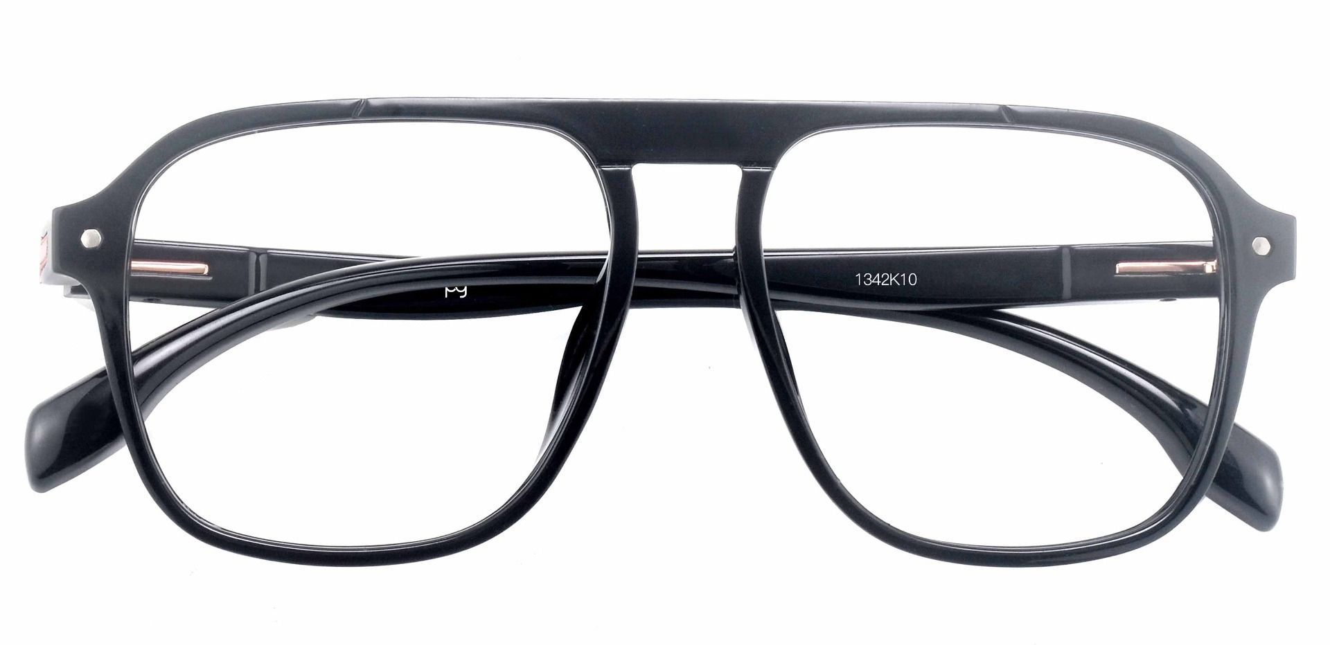 Gideon Aviator Prescription Glasses - Black