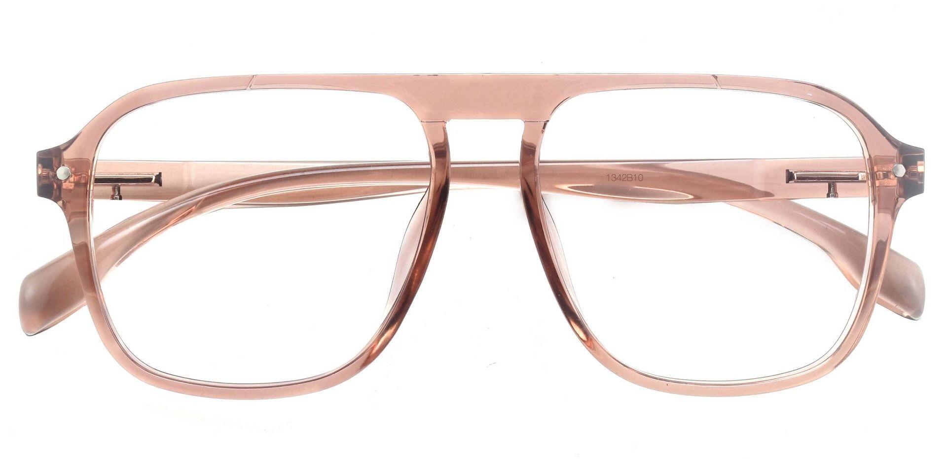 Gideon Aviator Progressive Glasses - Brown