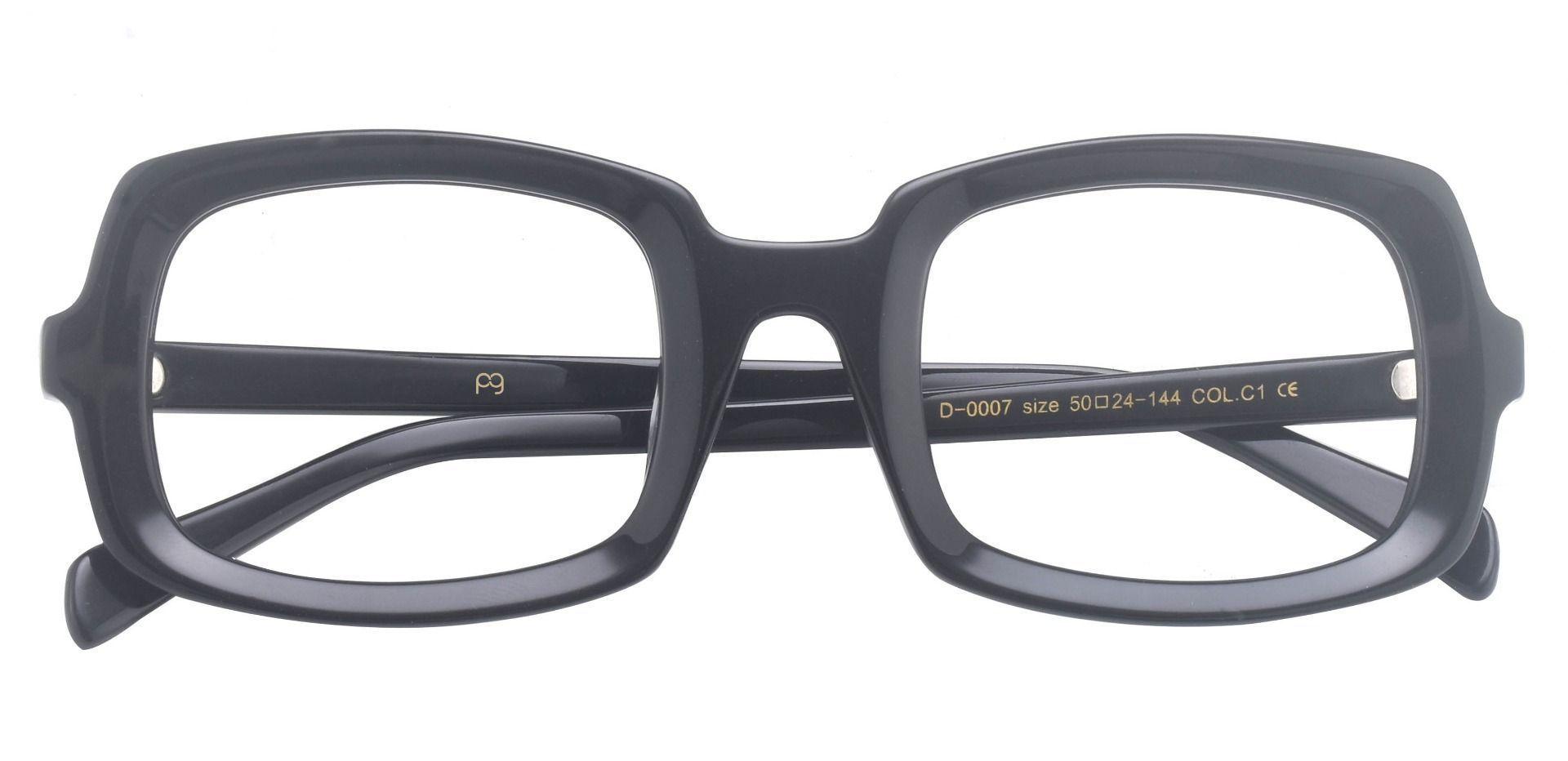 Madison Square Prescription Glasses - Black
