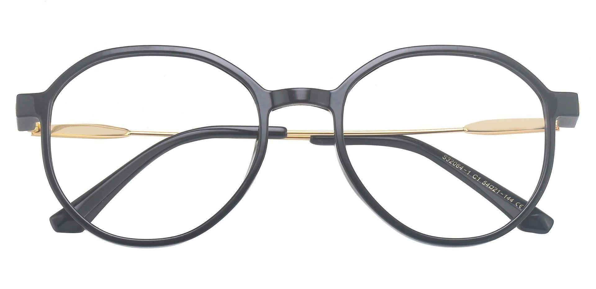 Daytona Geometric Prescription Glasses - Black
