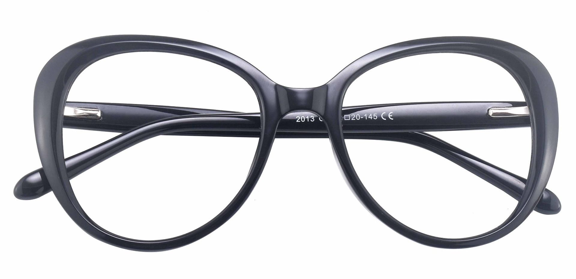 Sheridan Oval Prescription Glasses - Black