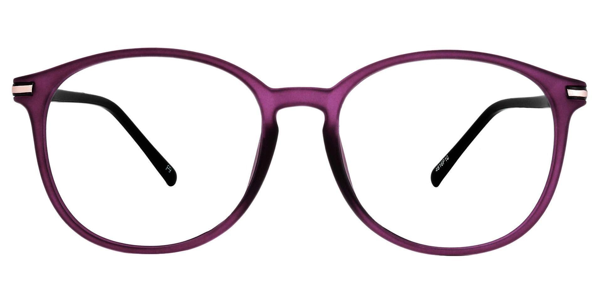 Rainier Oval Lined Bifocal Glasses - Purple