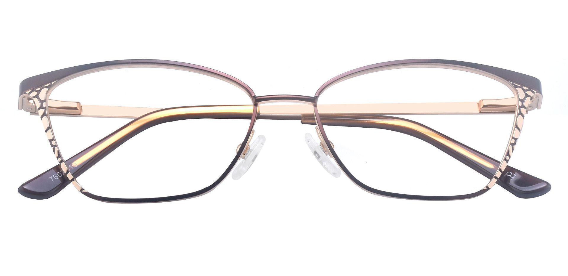 Solange Cat Eye Prescription Glasses - Brown