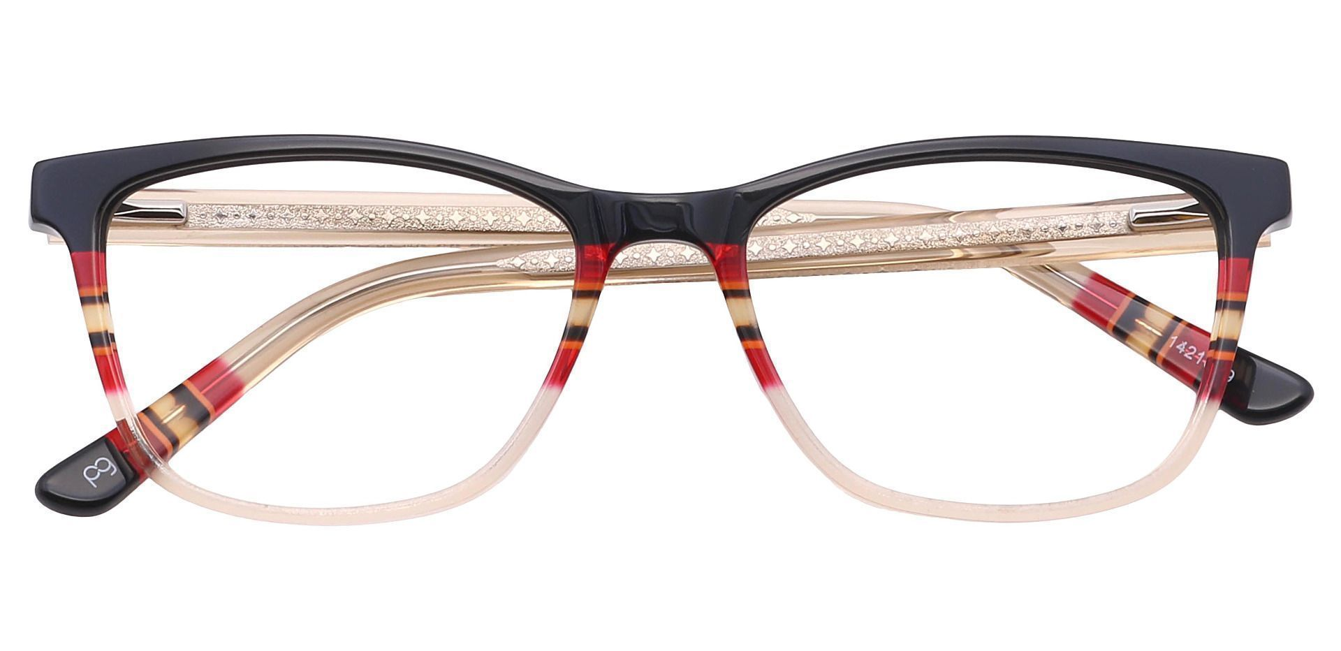 Taffie Oval Lined Bifocal Glasses - Clear
