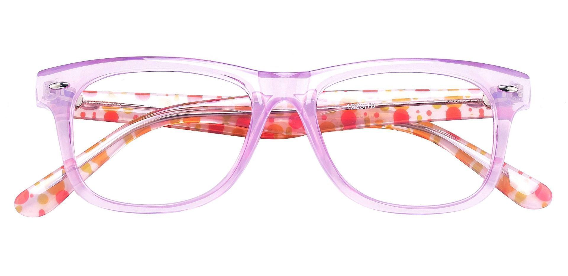 Leria Square Prescription Glasses - Pink