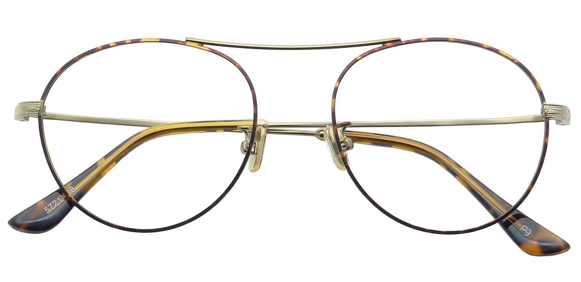 Finn Round Lined Bifocal Glasses - Yellow