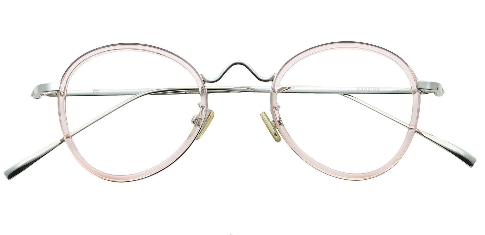 Emery Oval Reading Glasses - Pink