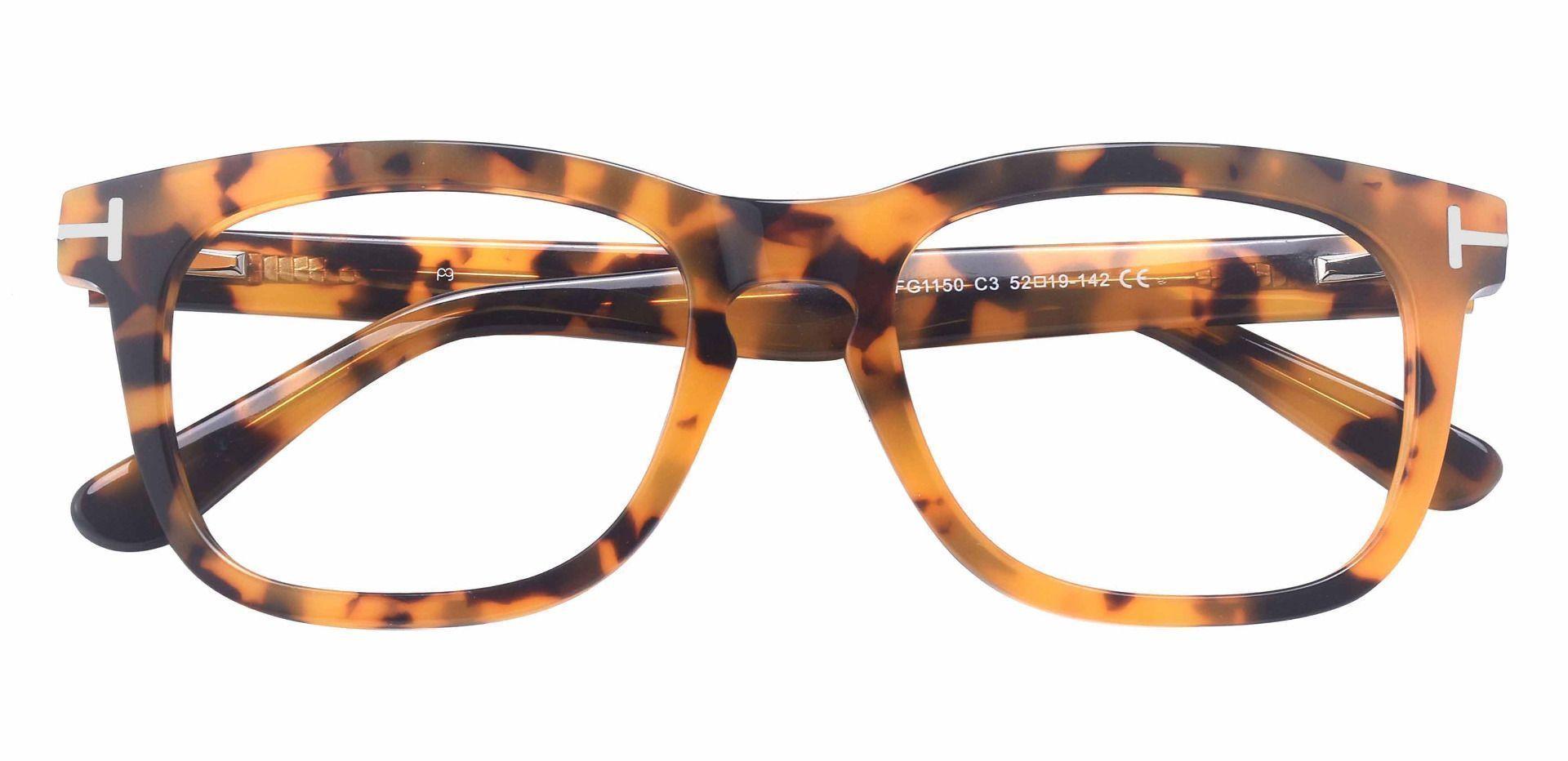 Heritage Square Prescription Glasses - Tortoise