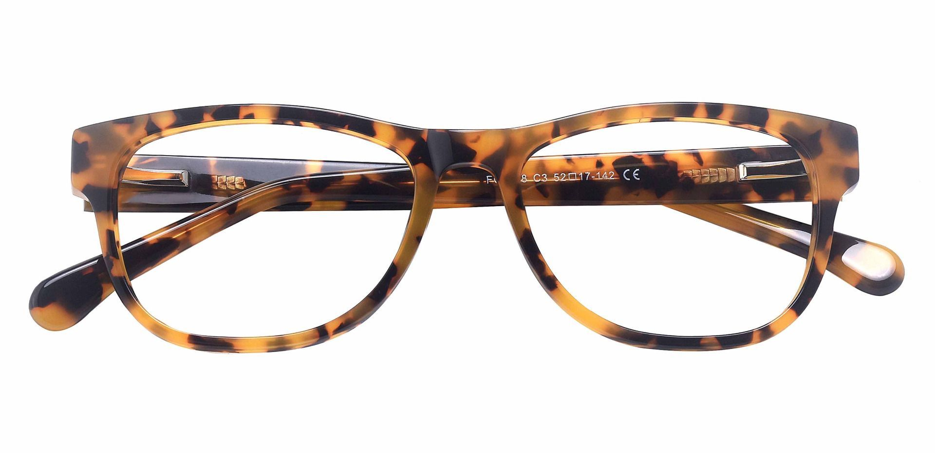 Eagle Rectangle Prescription Glasses - Tortoise