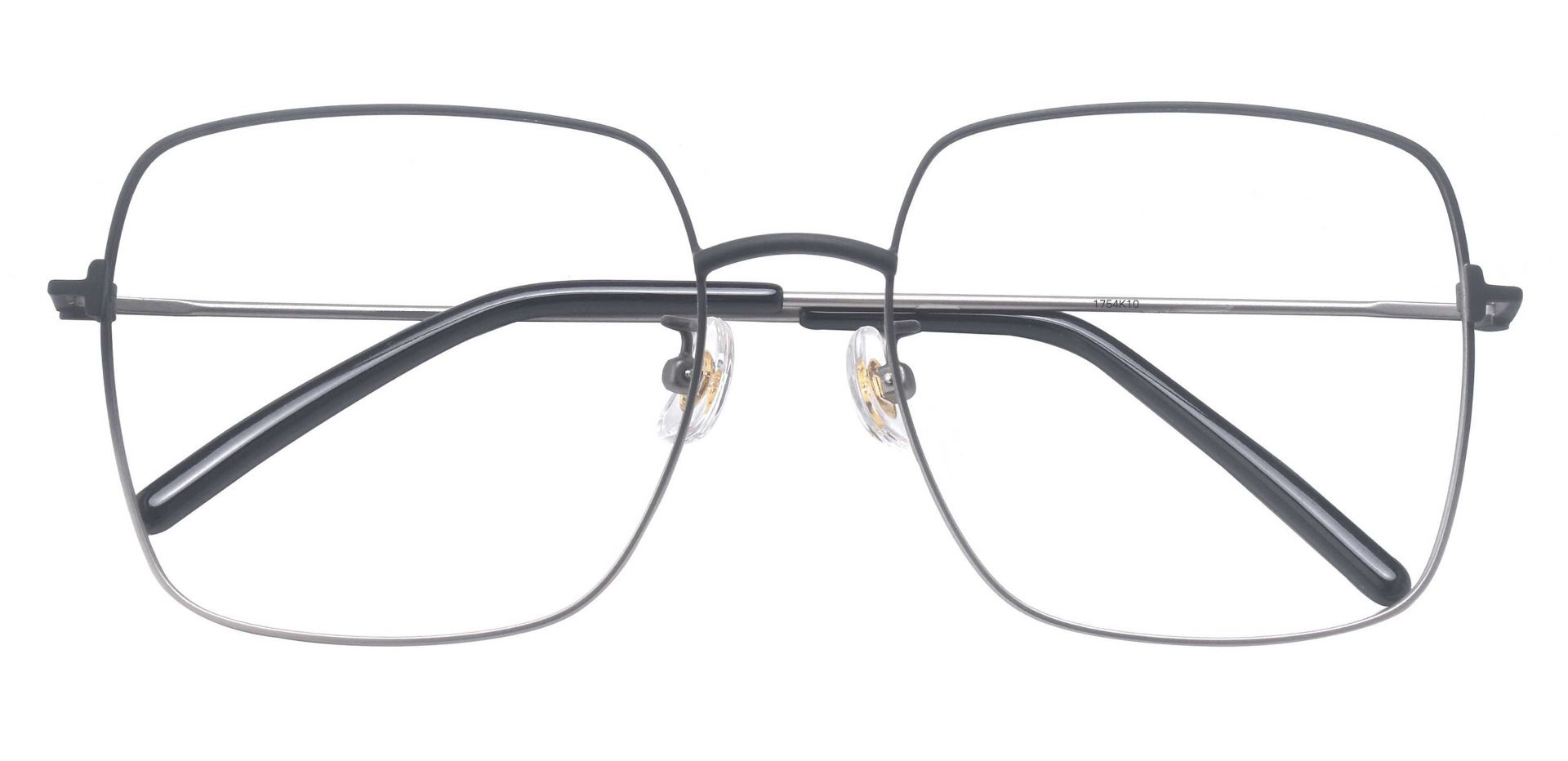 Belleview Square Prescription Glasses - Black