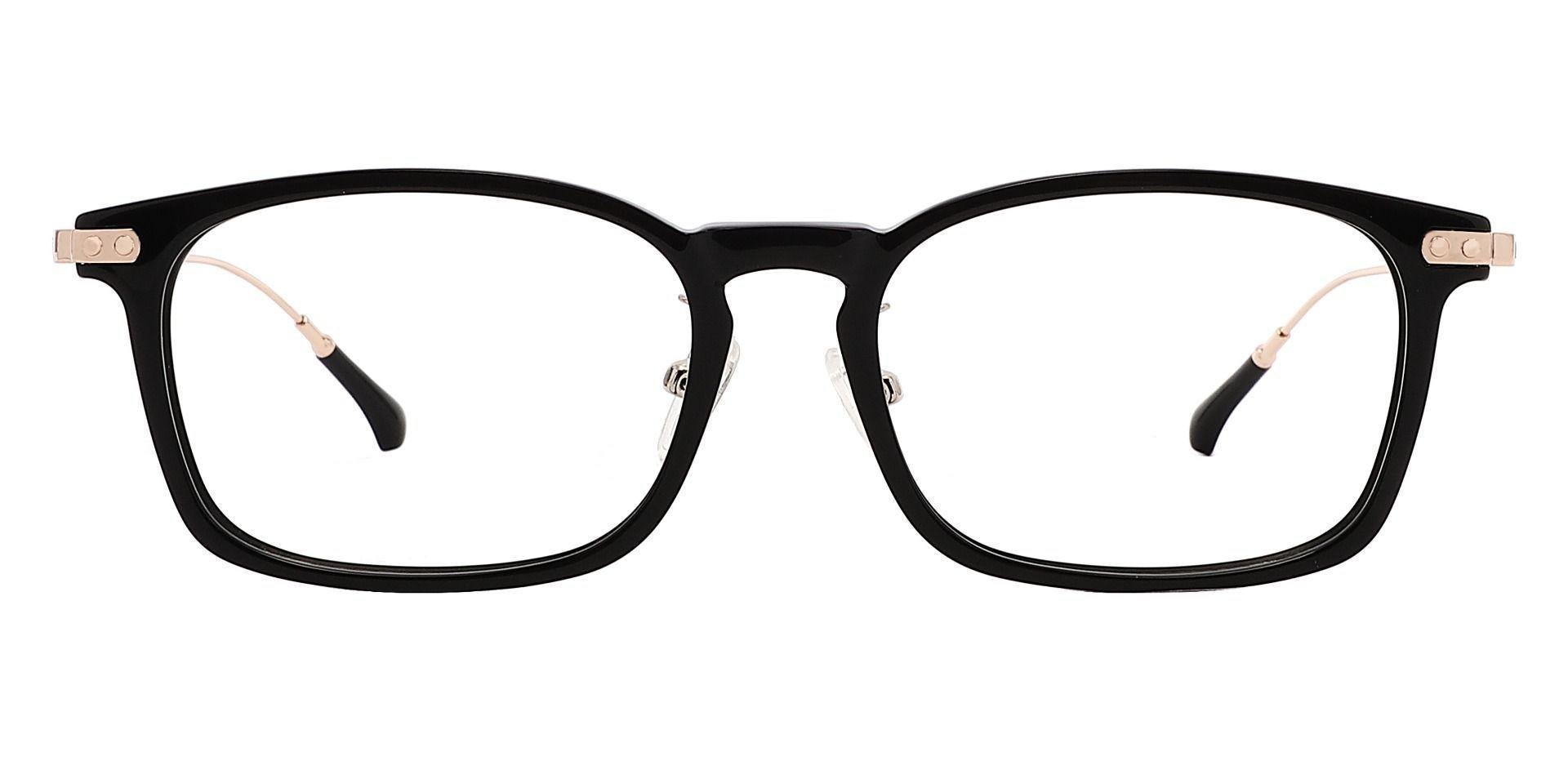 Barron Rectangle Non-Rx Glasses - Black