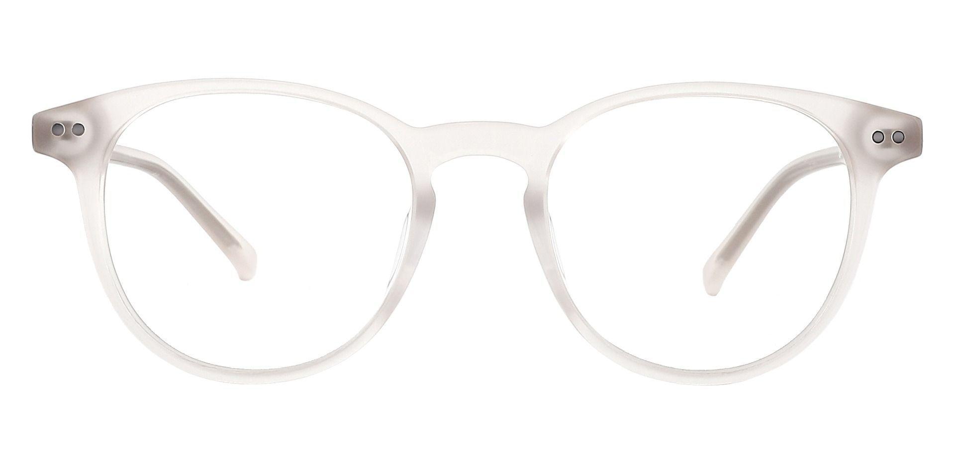 Marianna Oval Progressive Glasses - White