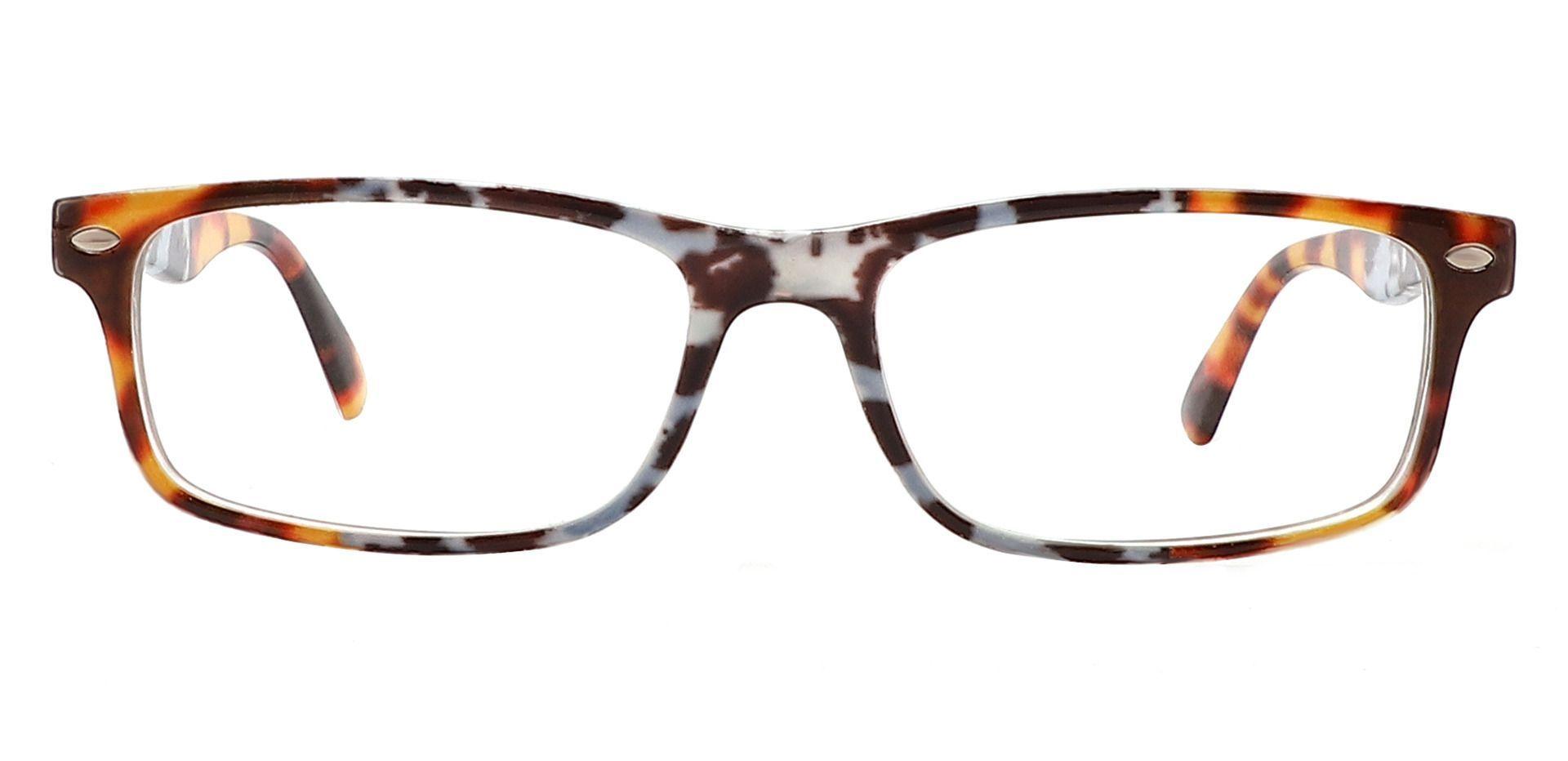 Elfrida Rectangle Eyeglasses Frame - Tortoise