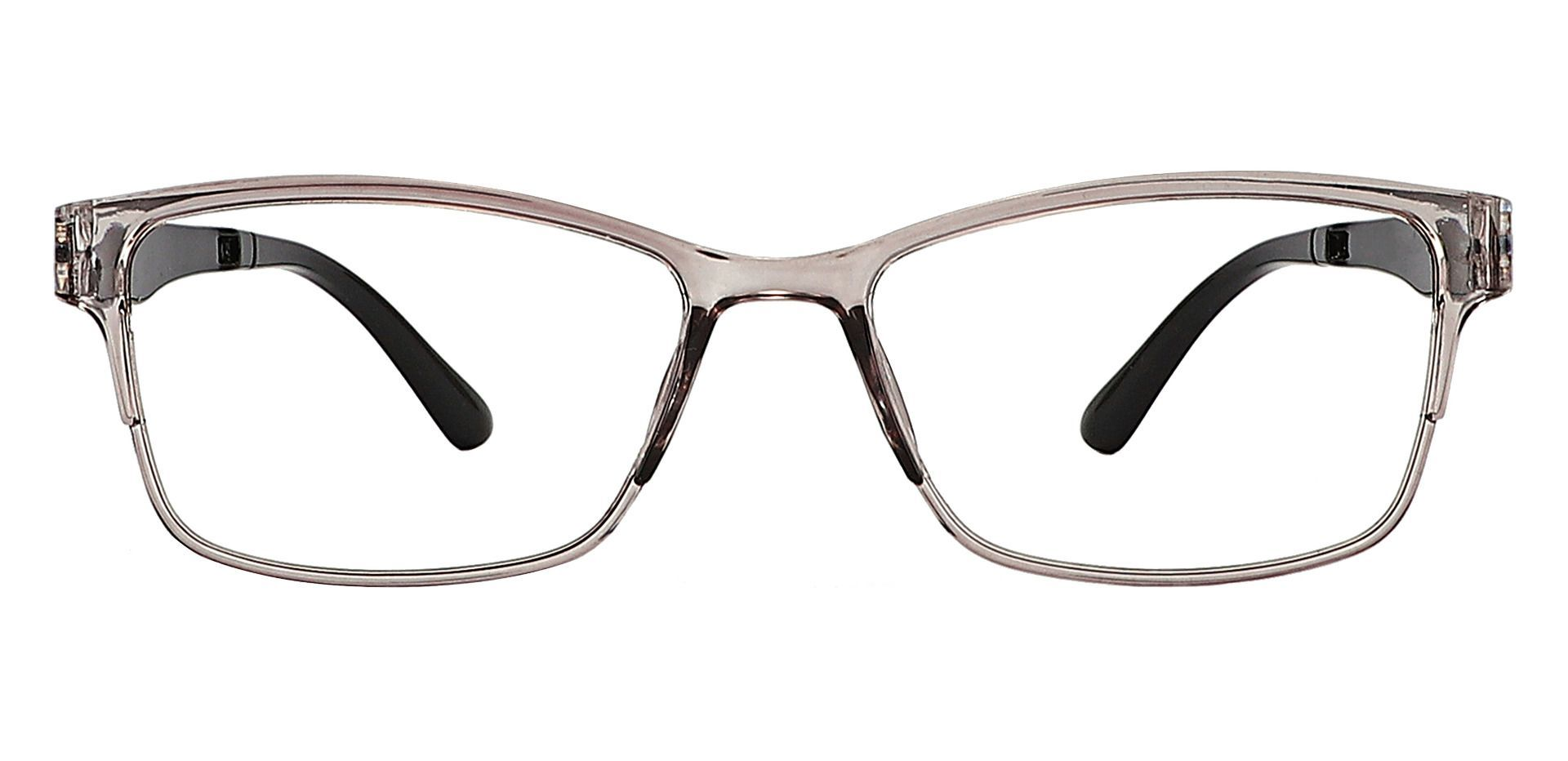 Cantwell Rectangle Lined Bifocal Glasses - Gray