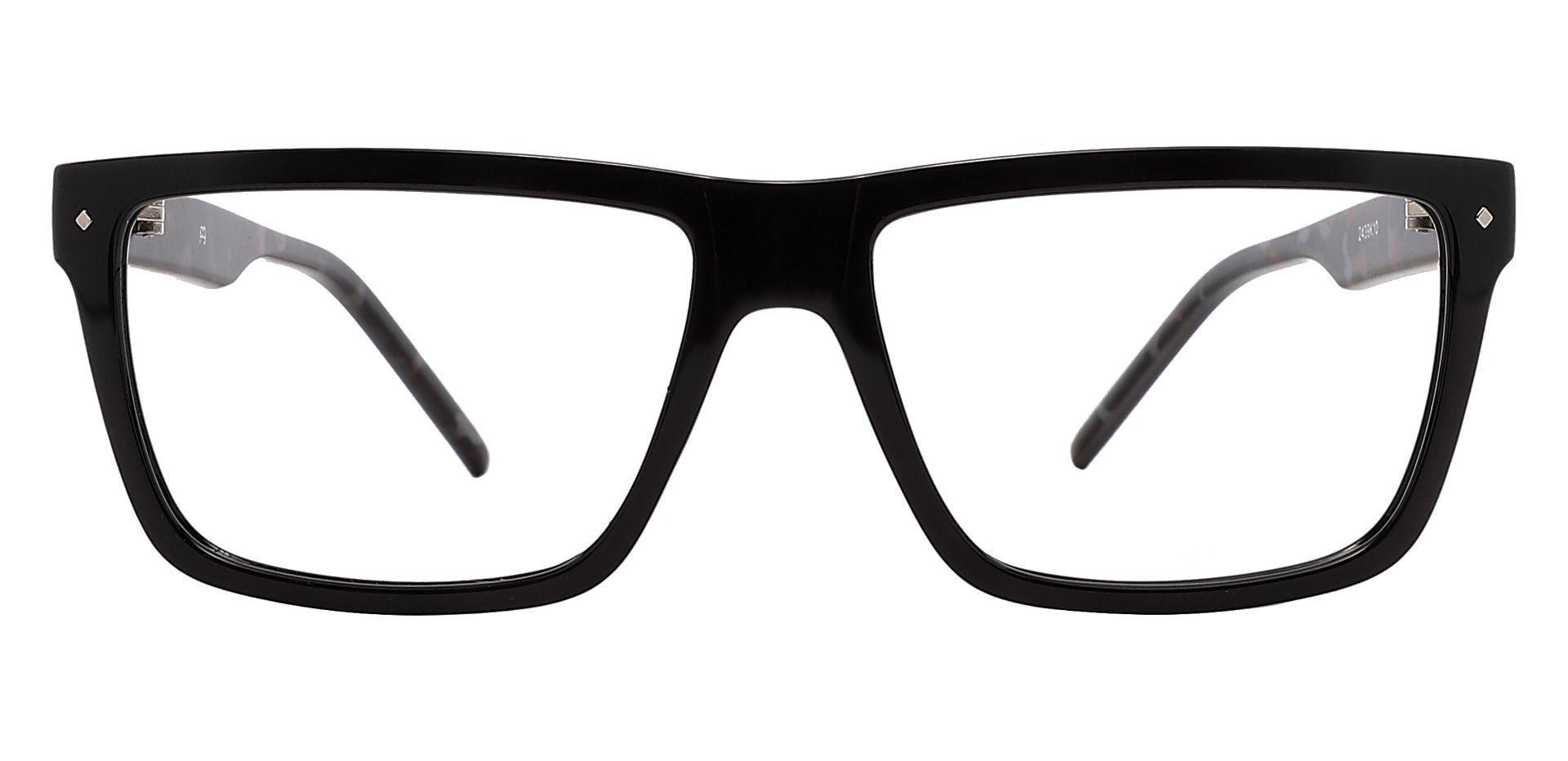 Marietta Rectangle Prescription Glasses - Black