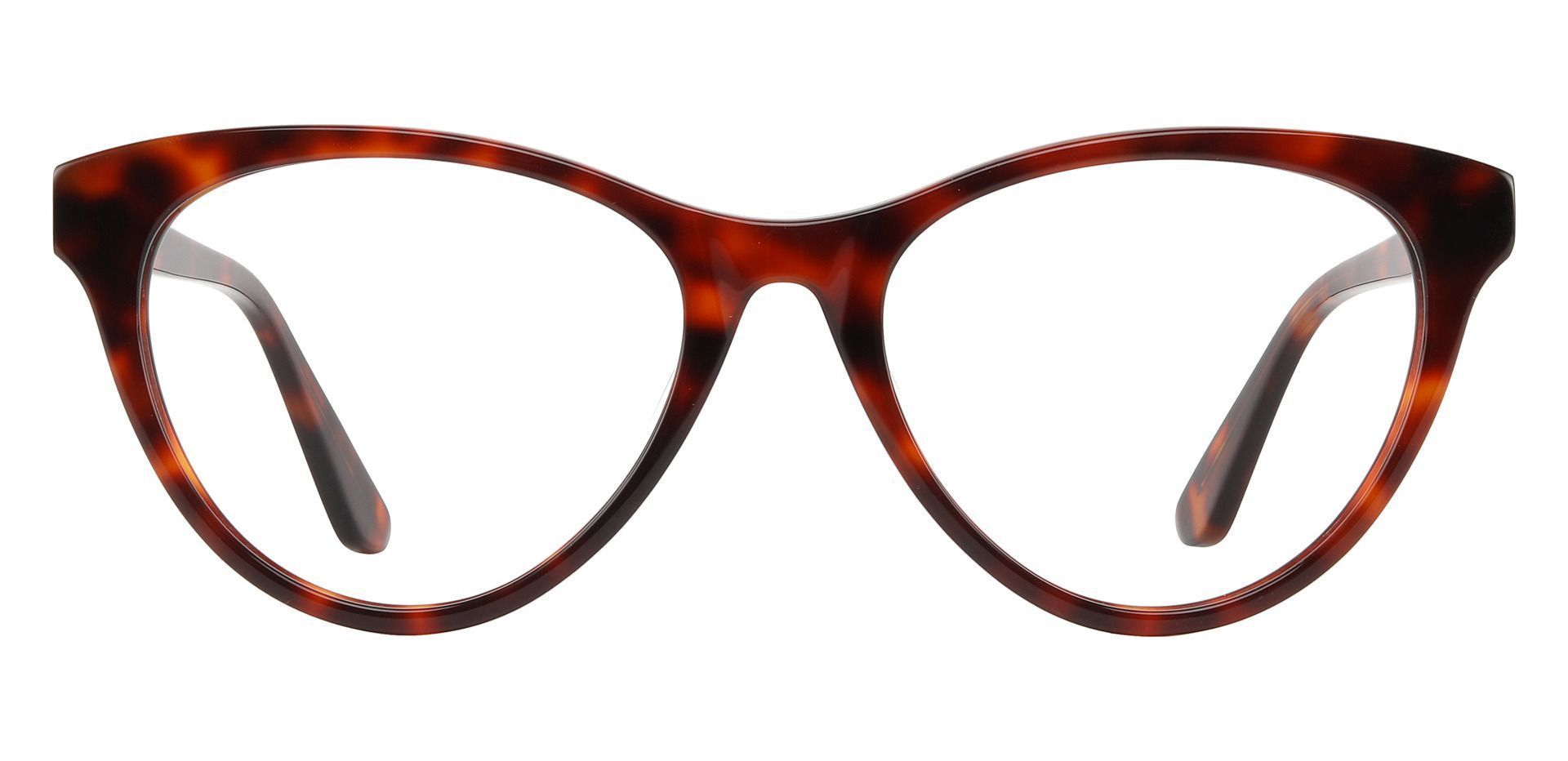 Curie Cat Eye Prescription Glasses - Tortoise