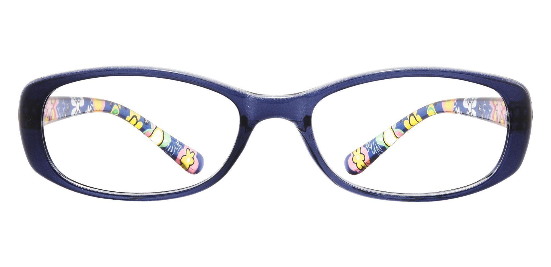 Bethesda Rectangle Prescription Glasses - Blue