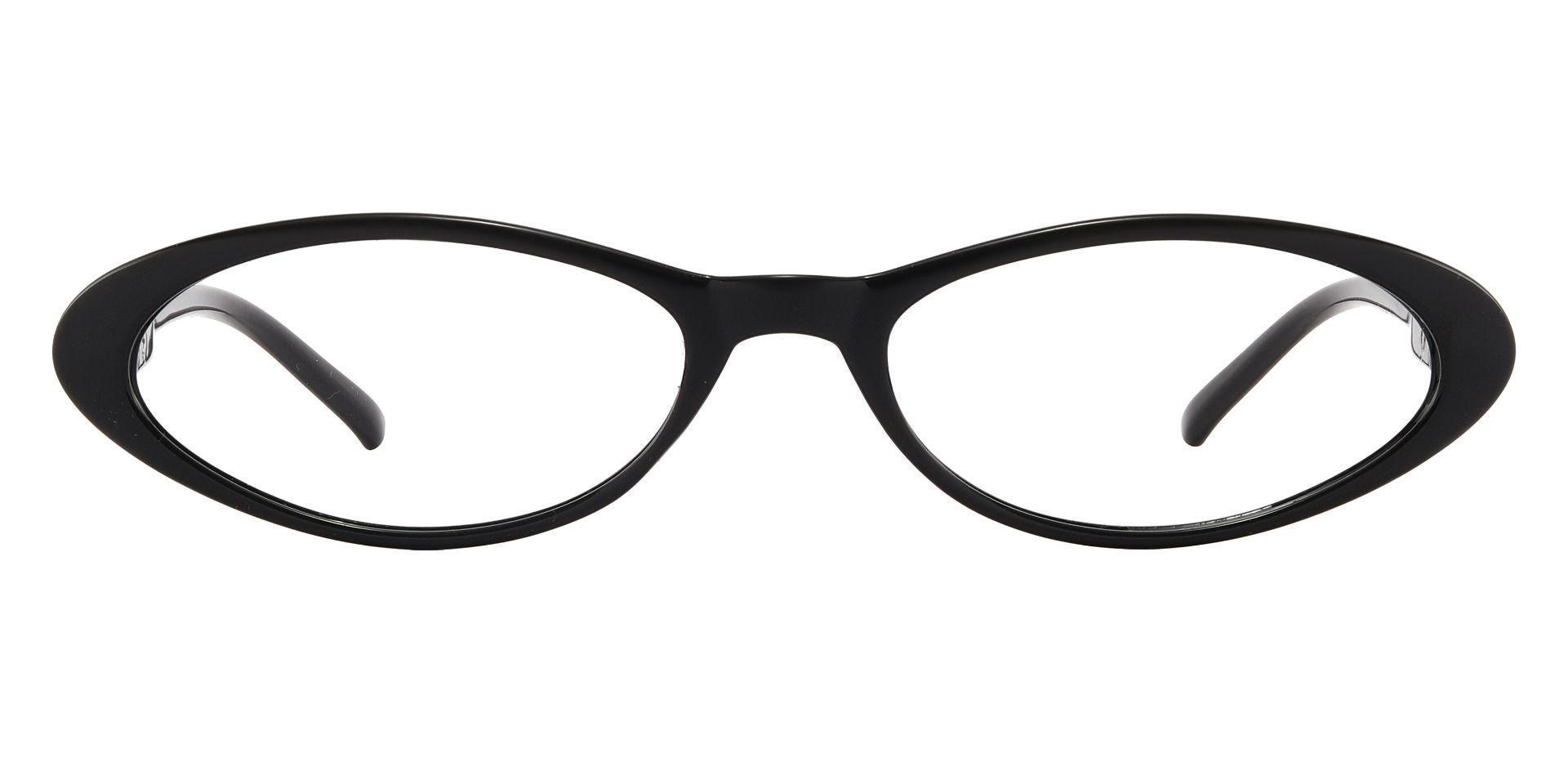 Darcie Cat-Eye Reading Glasses - Shiny Black
