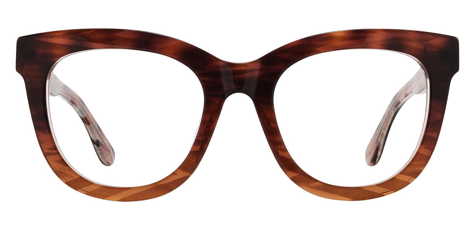 Delphi Square Prescription Glasses - Tortoise