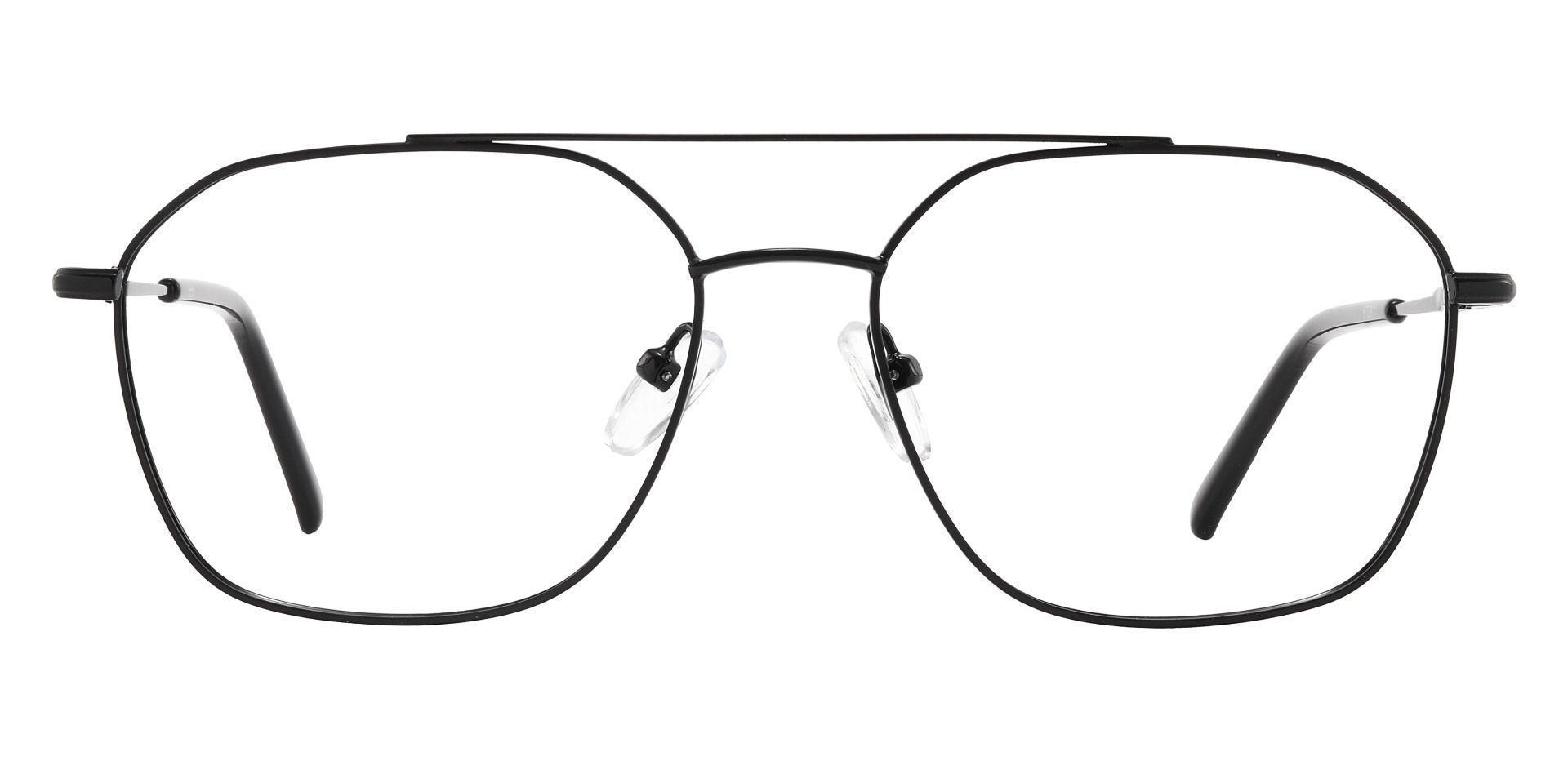 Harvey Aviator Prescription Glasses - Black