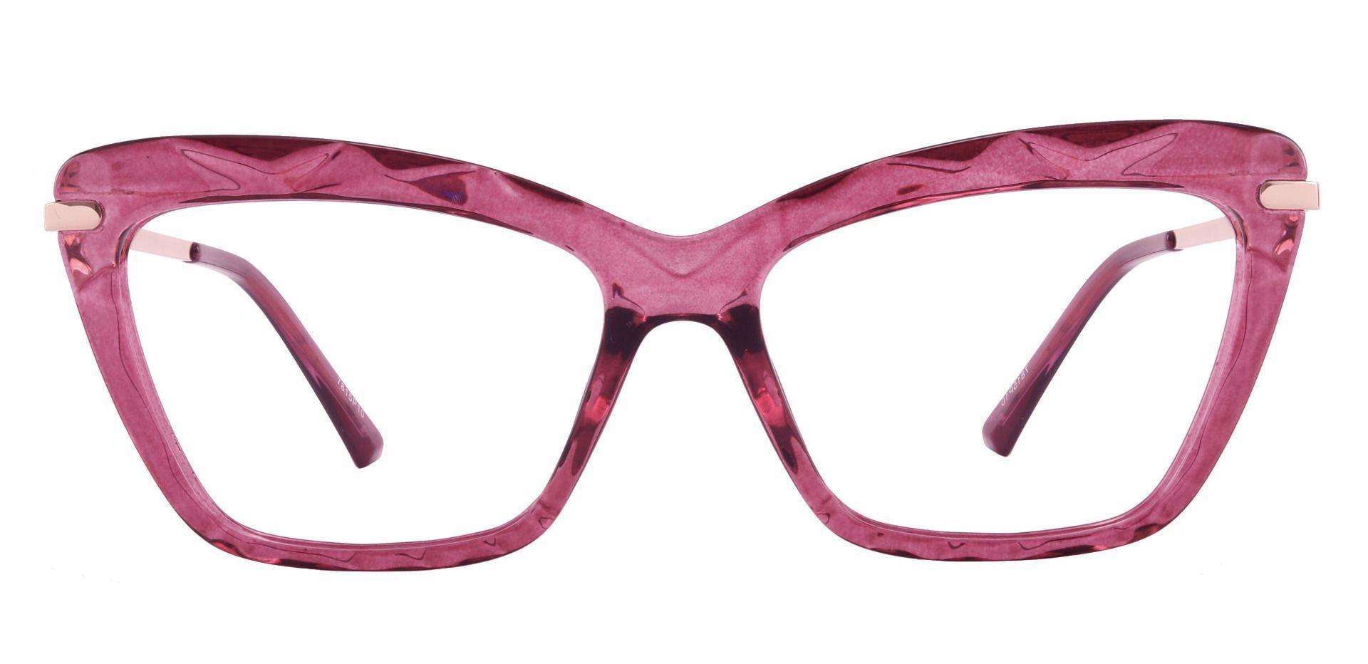 Rochelle Cat Eye Prescription Glasses - Purple