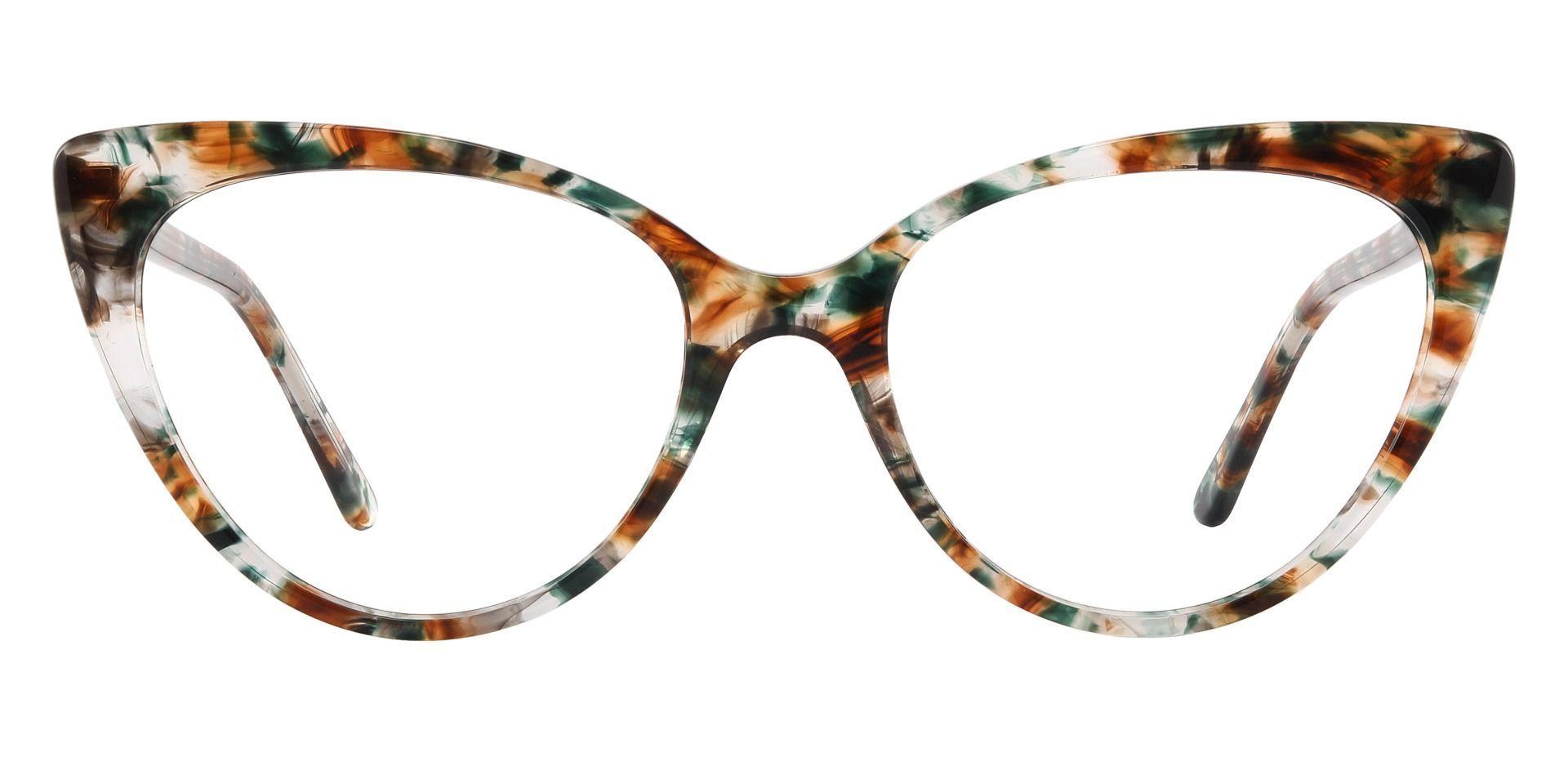 Bristol Cat Eye Prescription Glasses - Brown