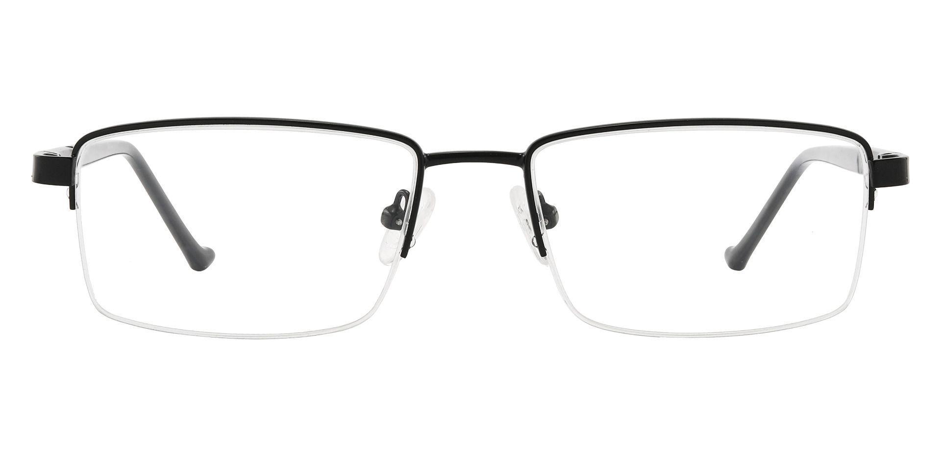 Burton Rectangle Prescription Glasses - Black