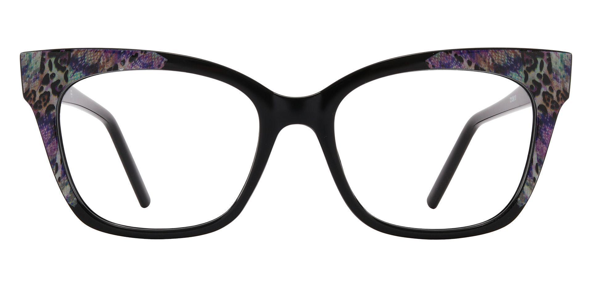 Hera Cat Eye Prescription Glasses - Black