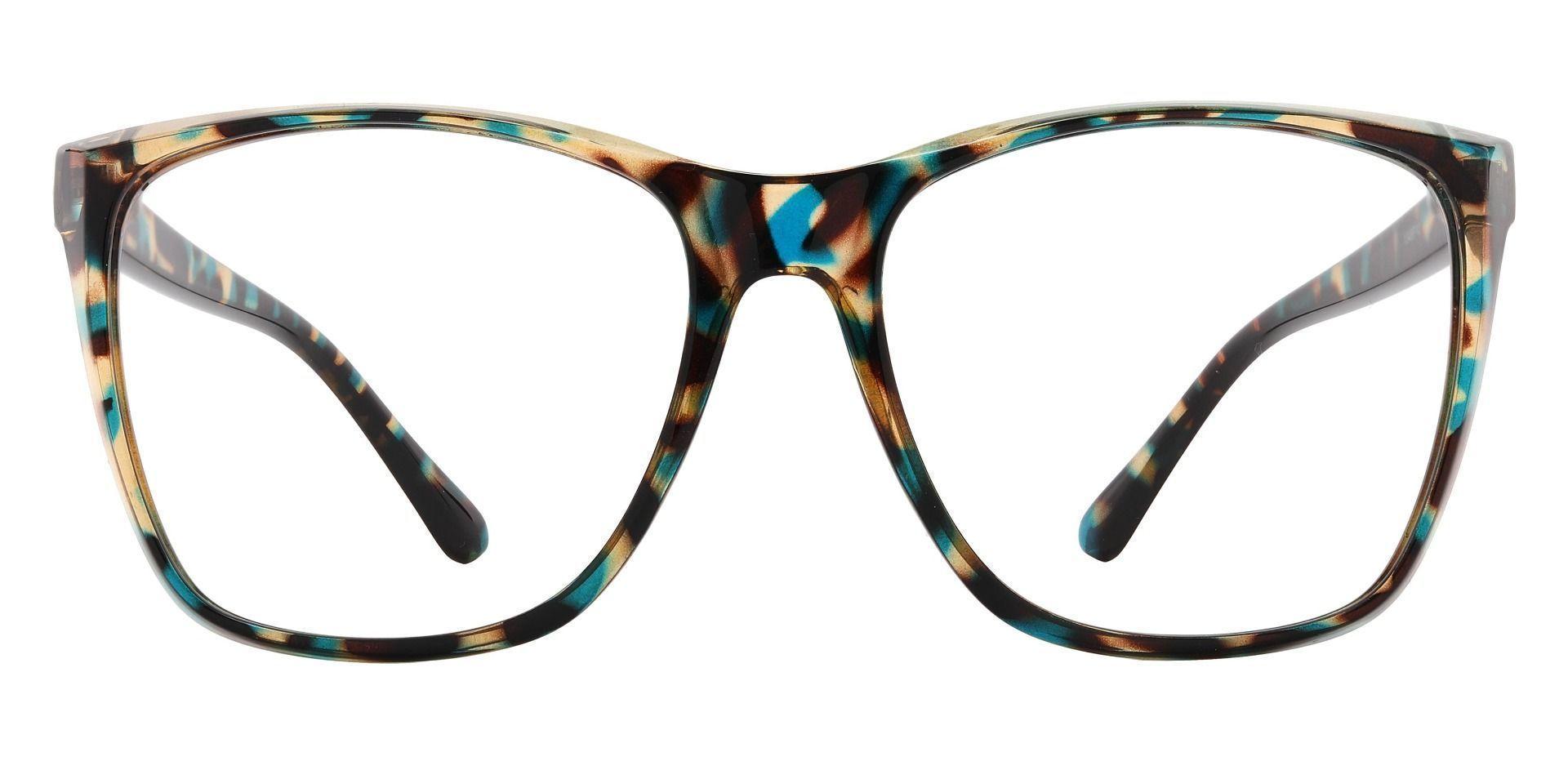 Taryn Square Prescription Glasses - Floral