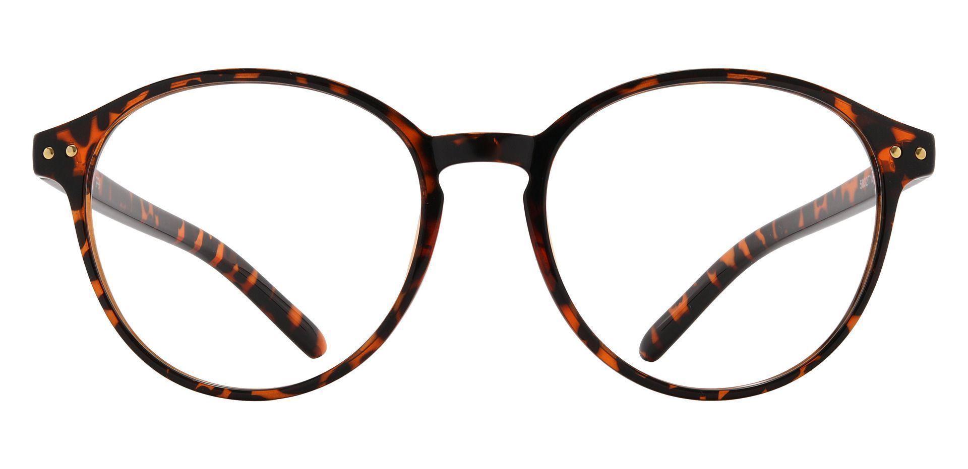 Sanger Round Prescription Glasses - Tortoise