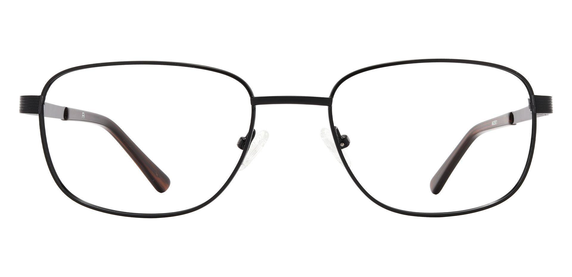 Leopold Oval Prescription Glasses - Black