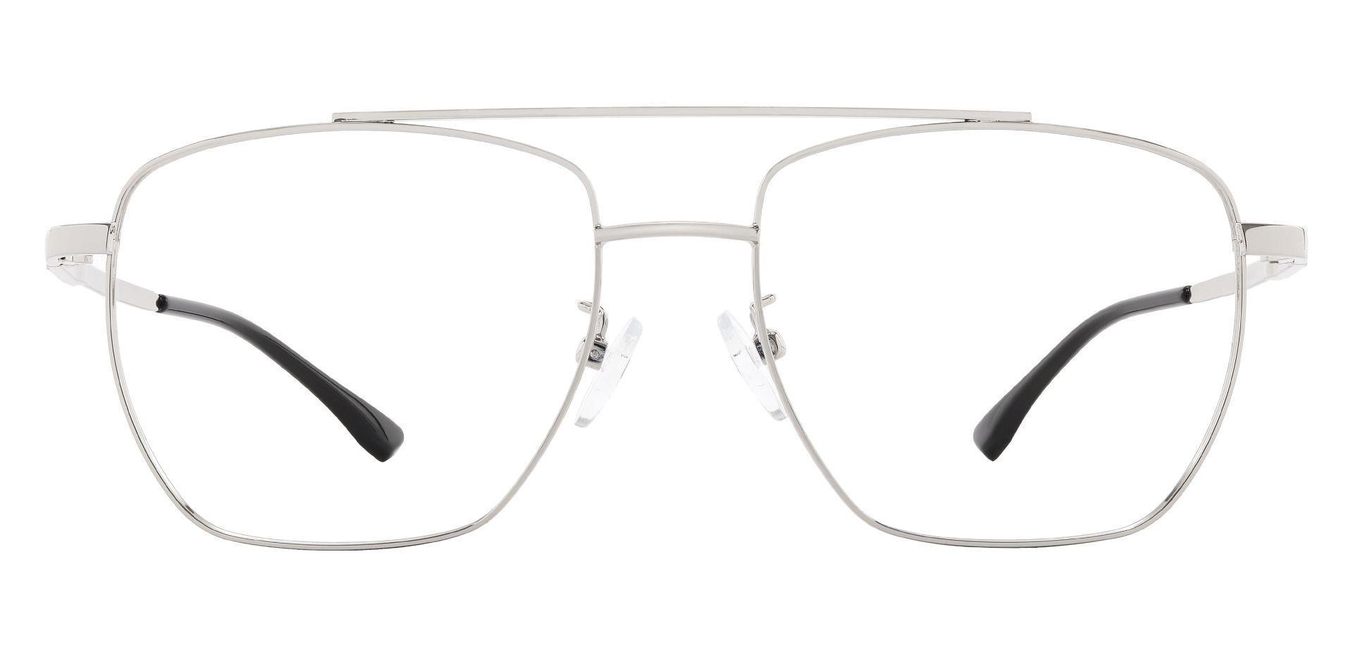 Randolph Aviator Prescription Glasses - Silver