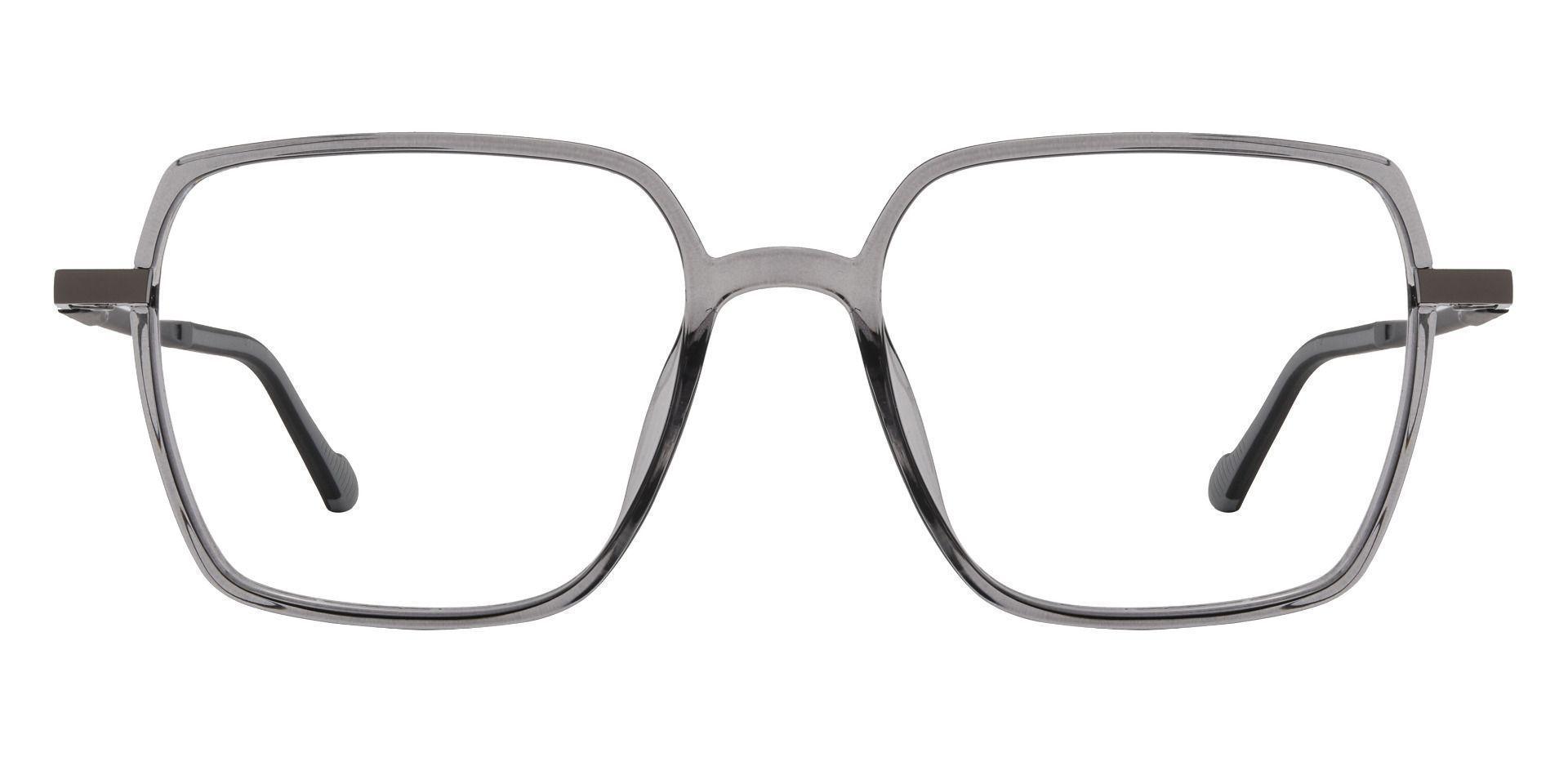 Zalma Square Prescription Glasses - Gray