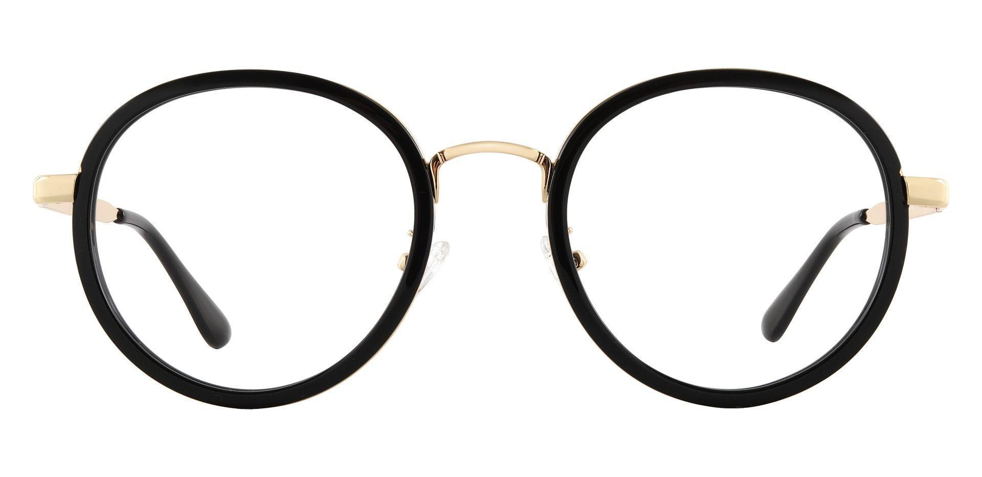 Bosco Round Prescription Glasses - Black