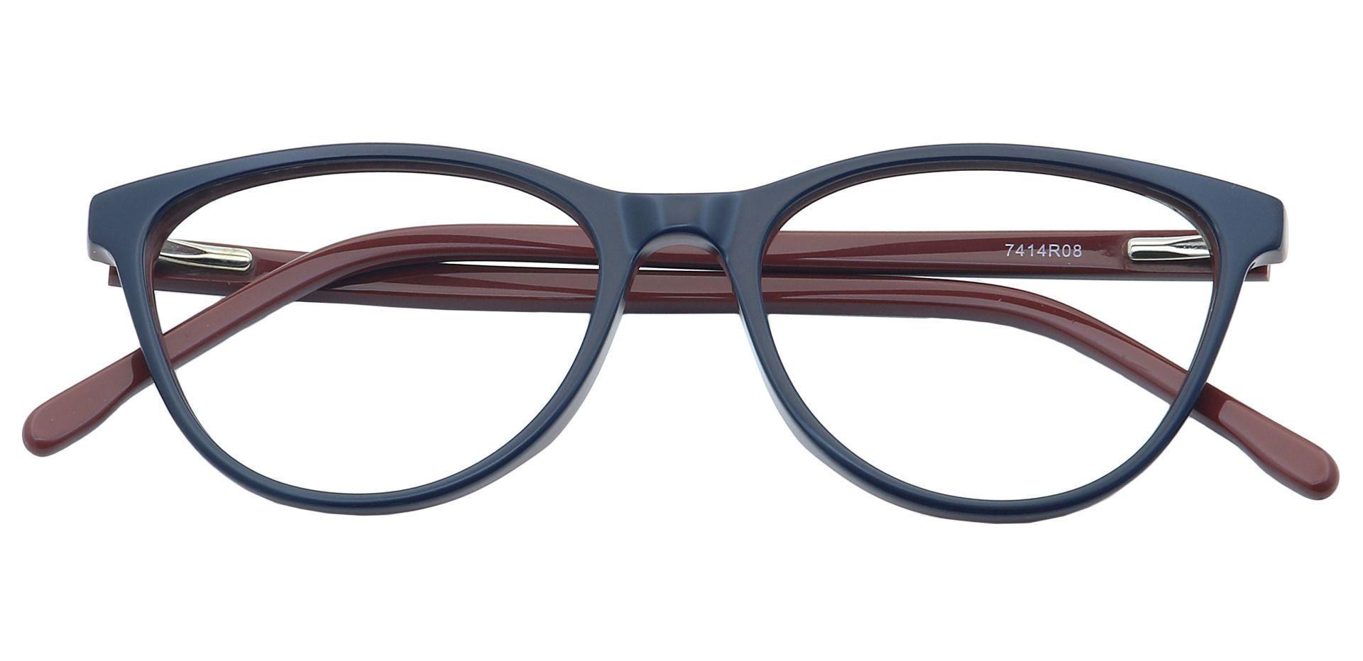 Rebekah Cat-Eye Prescription Glasses - Red