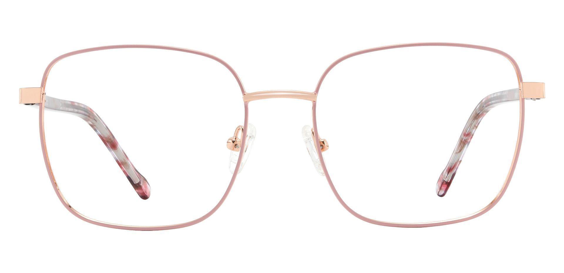Sunrise Square Prescription Glasses - Pink