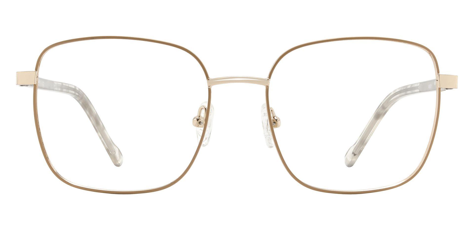 Sunrise Square Prescription Glasses - Brown