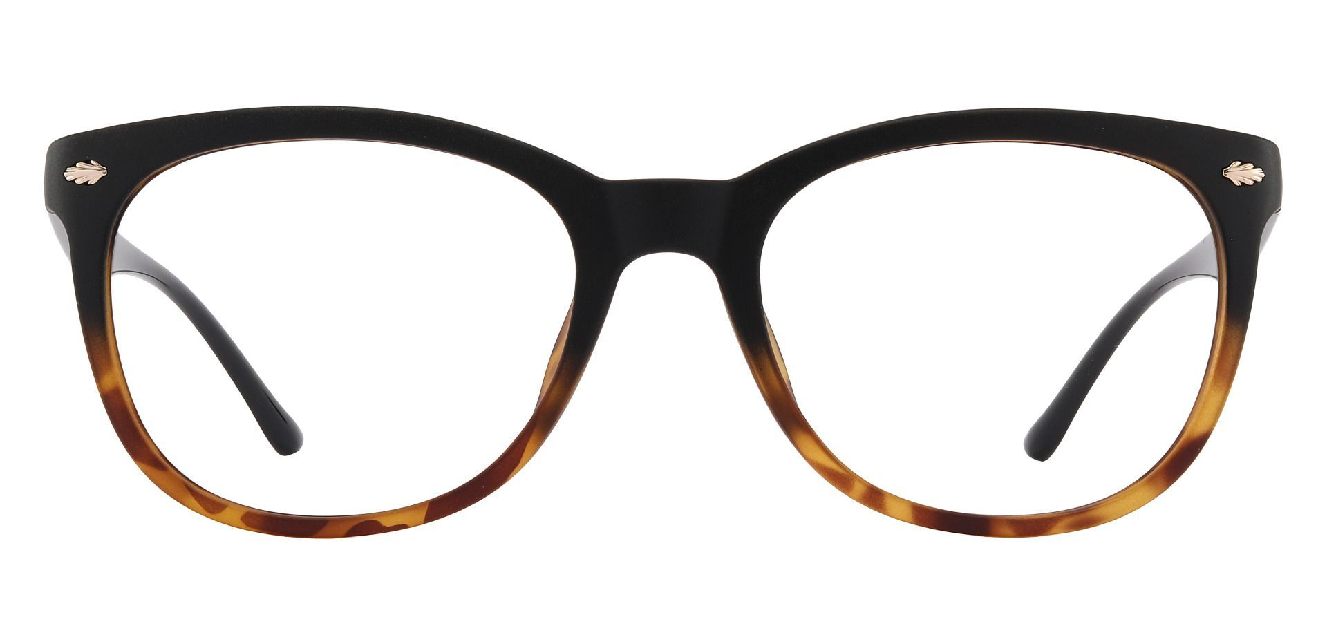 Pavilion Square Prescription Glasses - Black