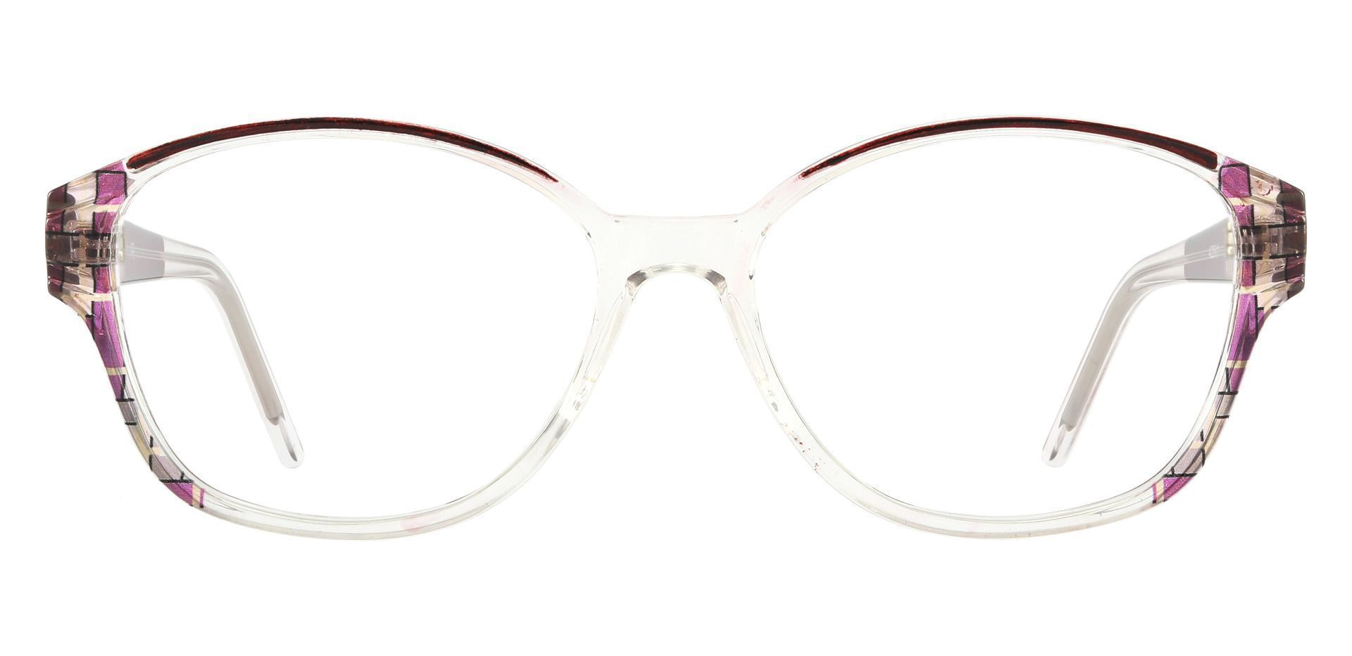 Moira Oval Prescription Glasses - Pink