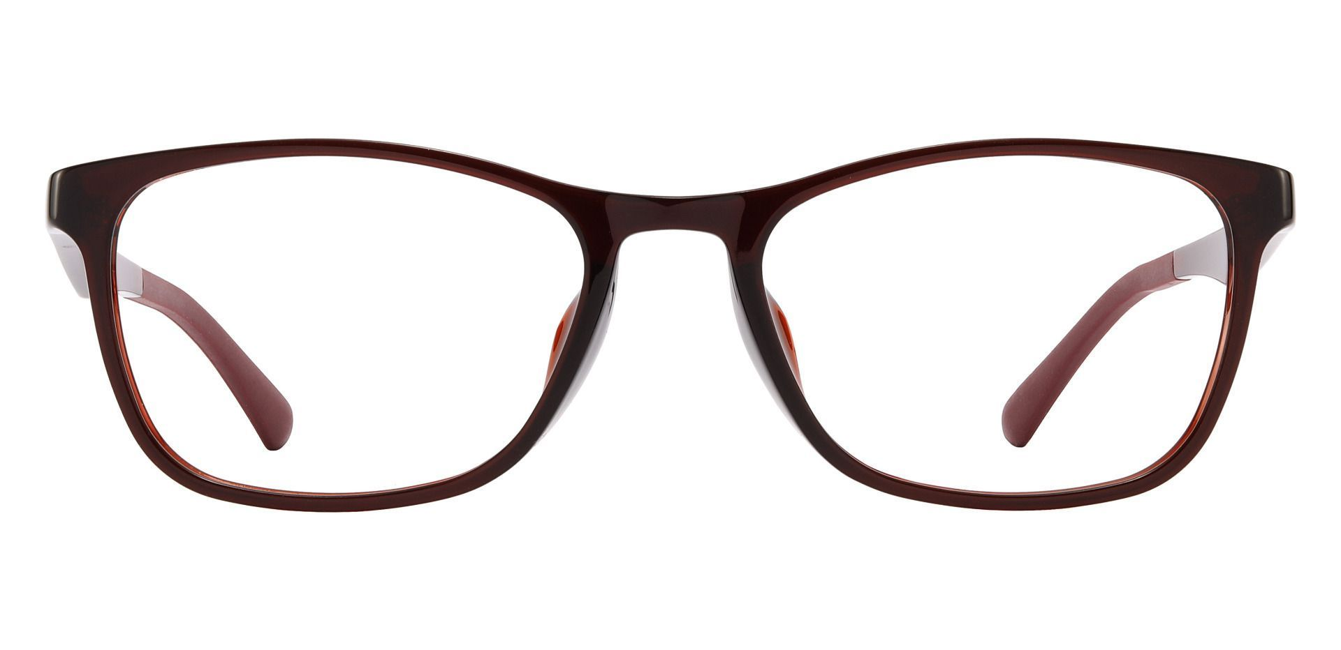 Latham Rectangle Prescription Glasses - Brown