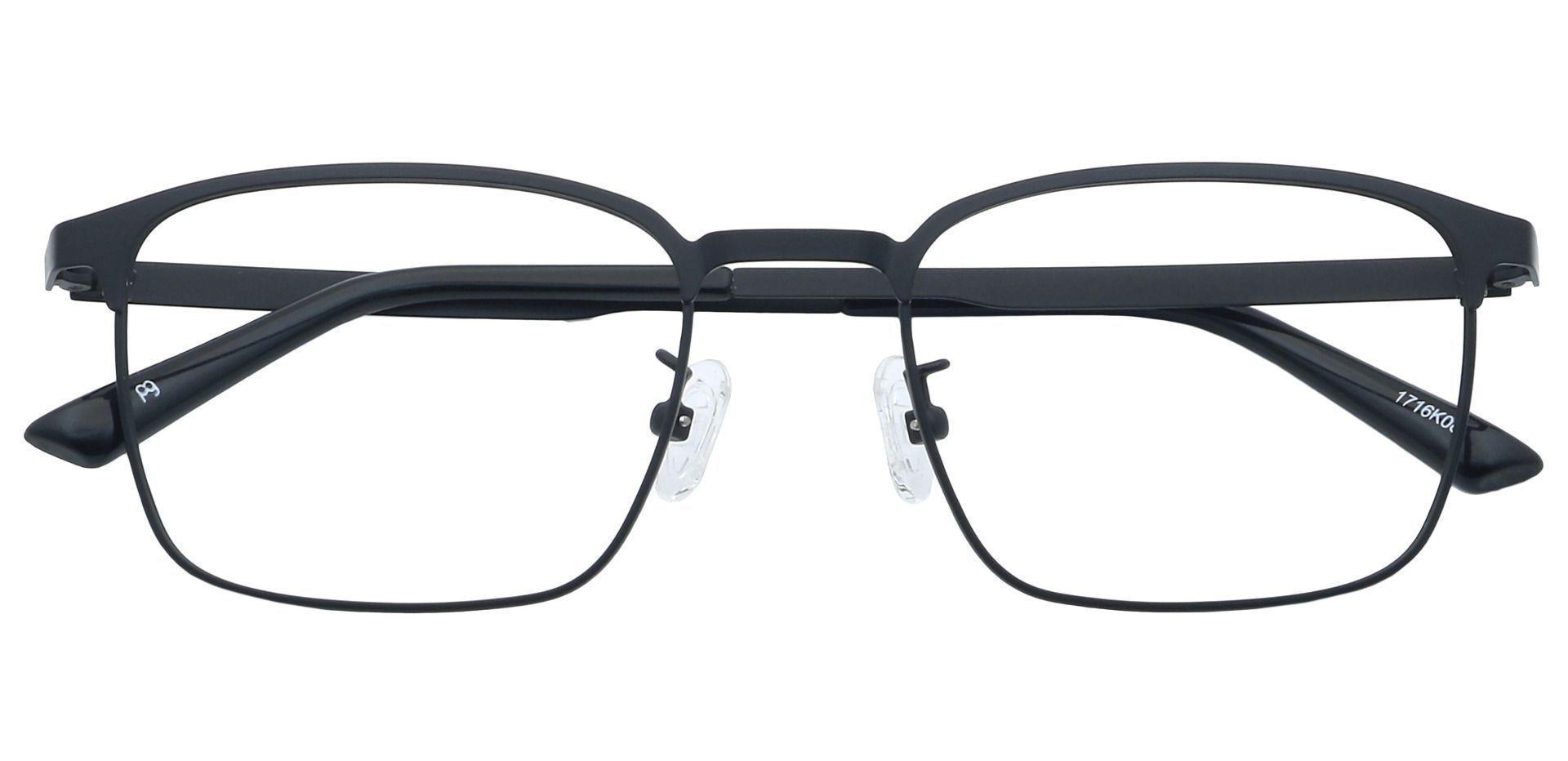 Kingston Square Prescription Glasses - Black