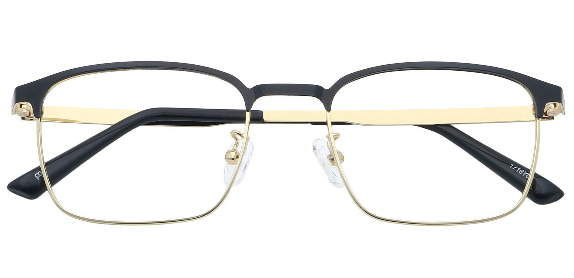 Kingston Square Blue Light Blocking Glasses - Yellow