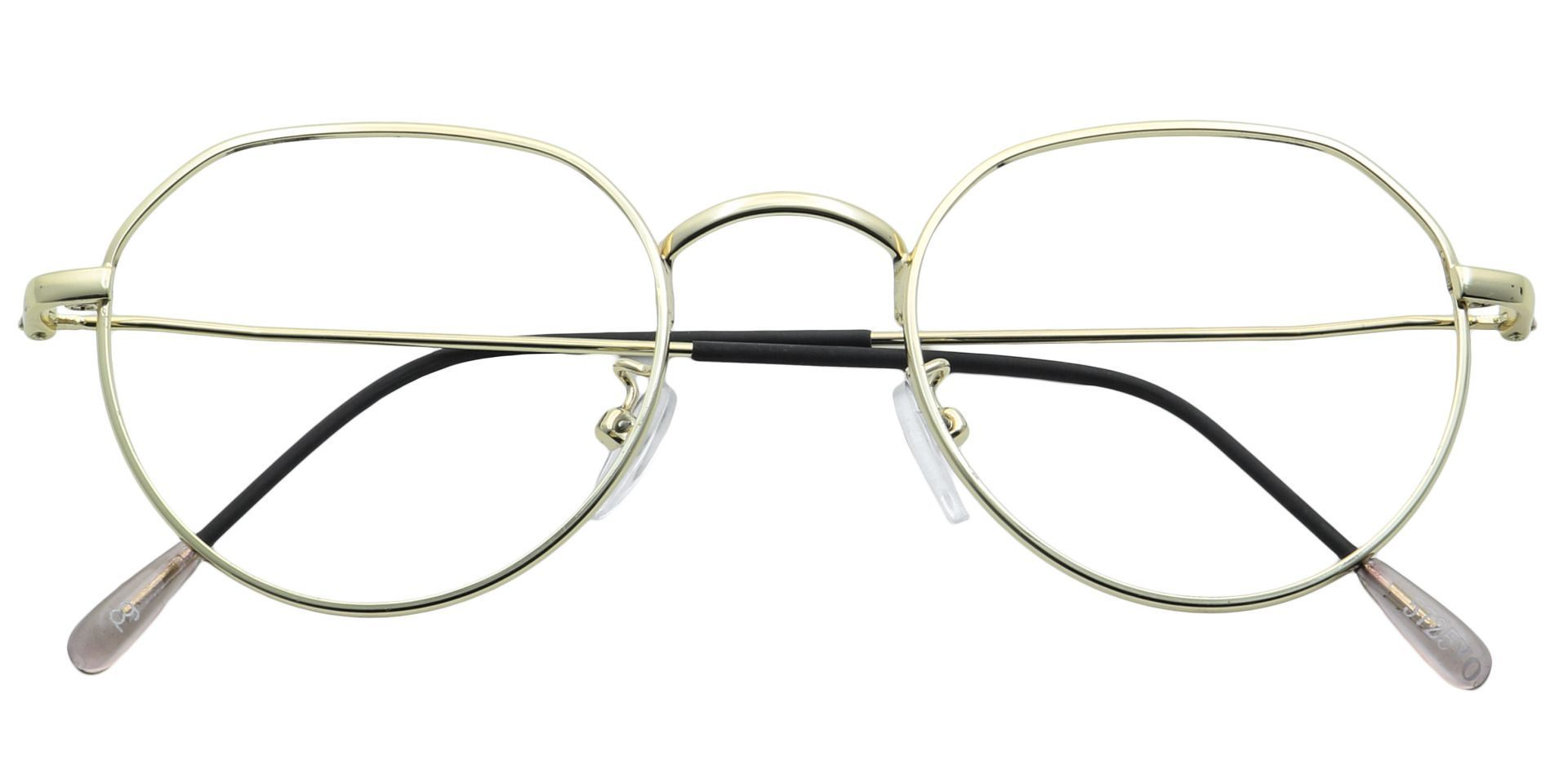 Emerson Round Lined Bifocal Glasses - Yellow