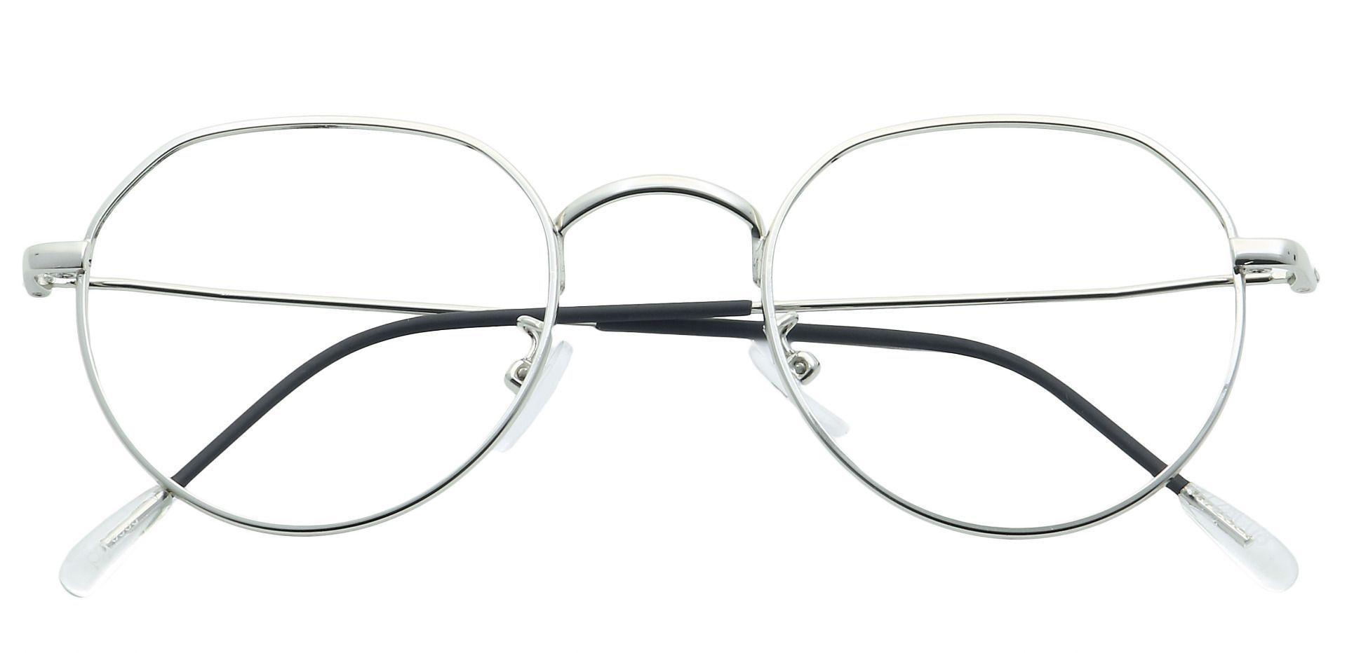 Emerson Round Progressive Glasses - Clear
